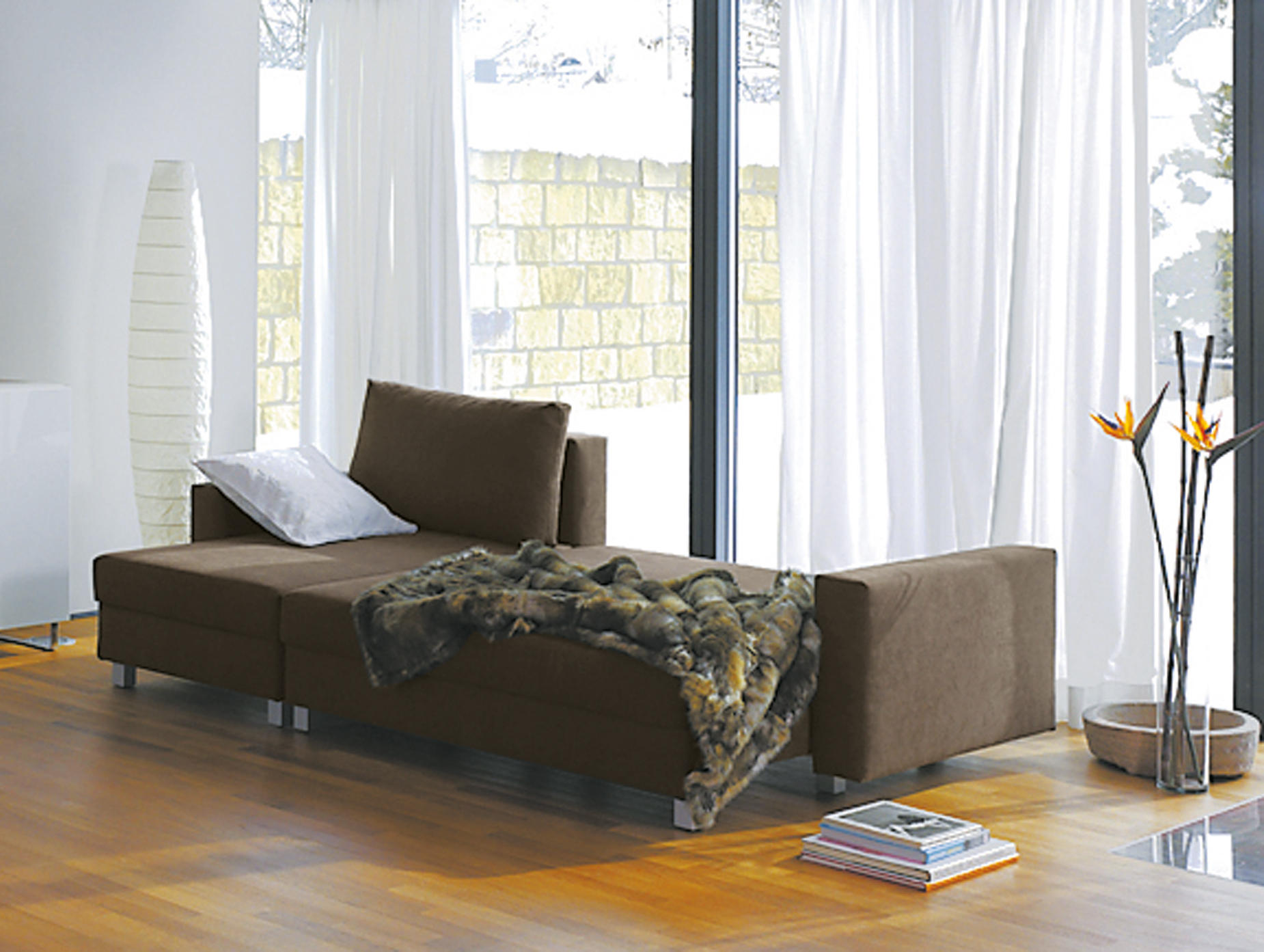 sonett sitzgruppe schlafsofas von die collection architonic. Black Bedroom Furniture Sets. Home Design Ideas