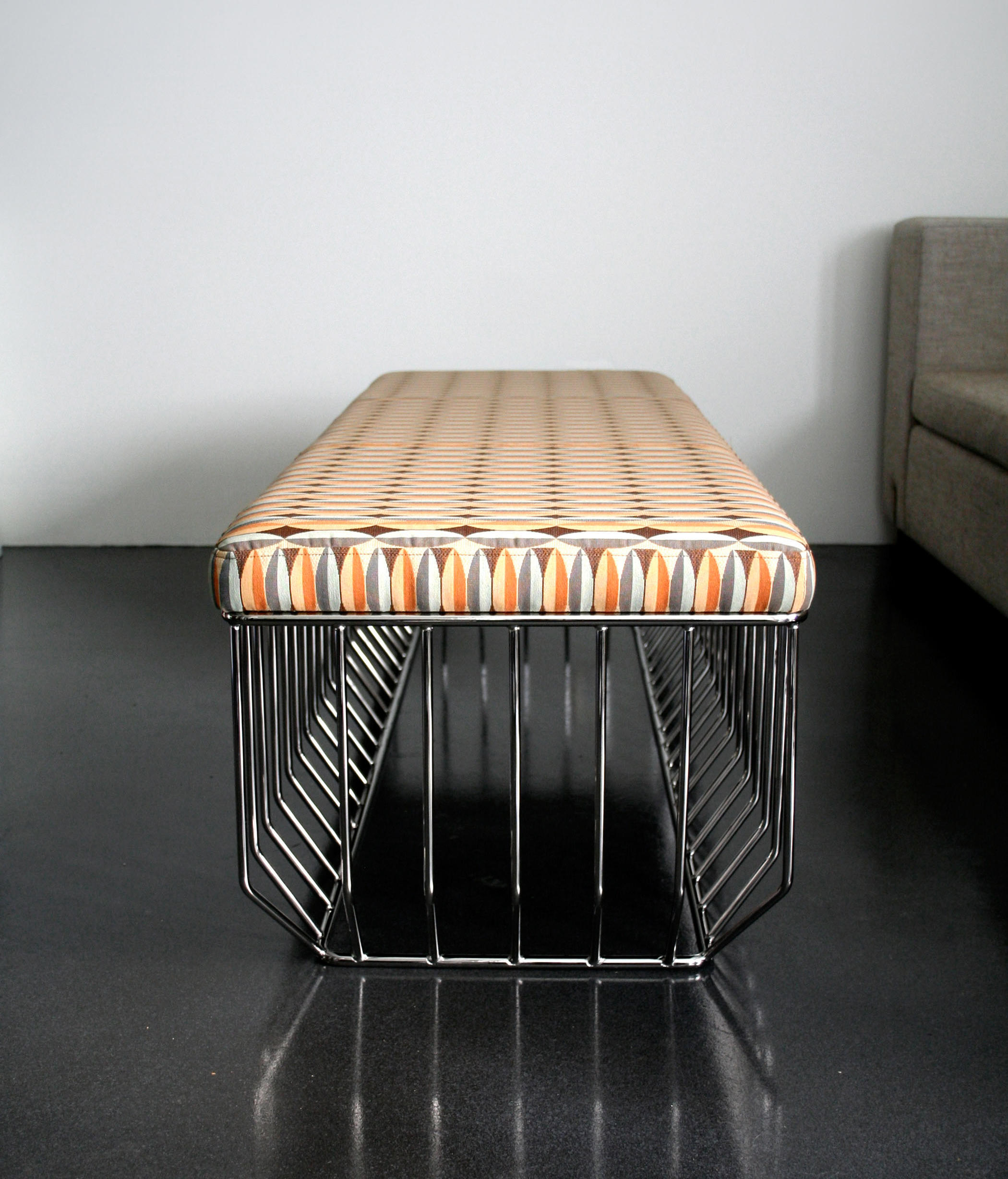 WIRED BENCH Waiting area benches from Phase Design