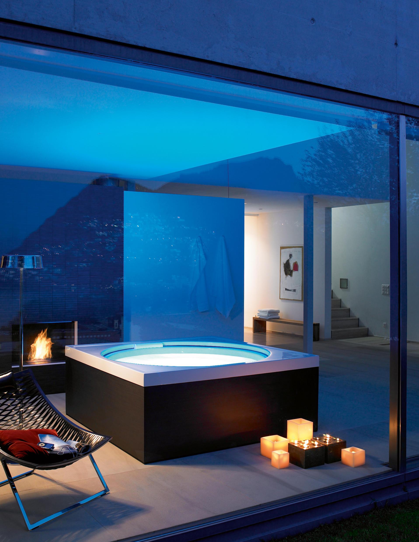Blue moon pool whirlwannen von duravit architonic for Minipiscinas para terrazas