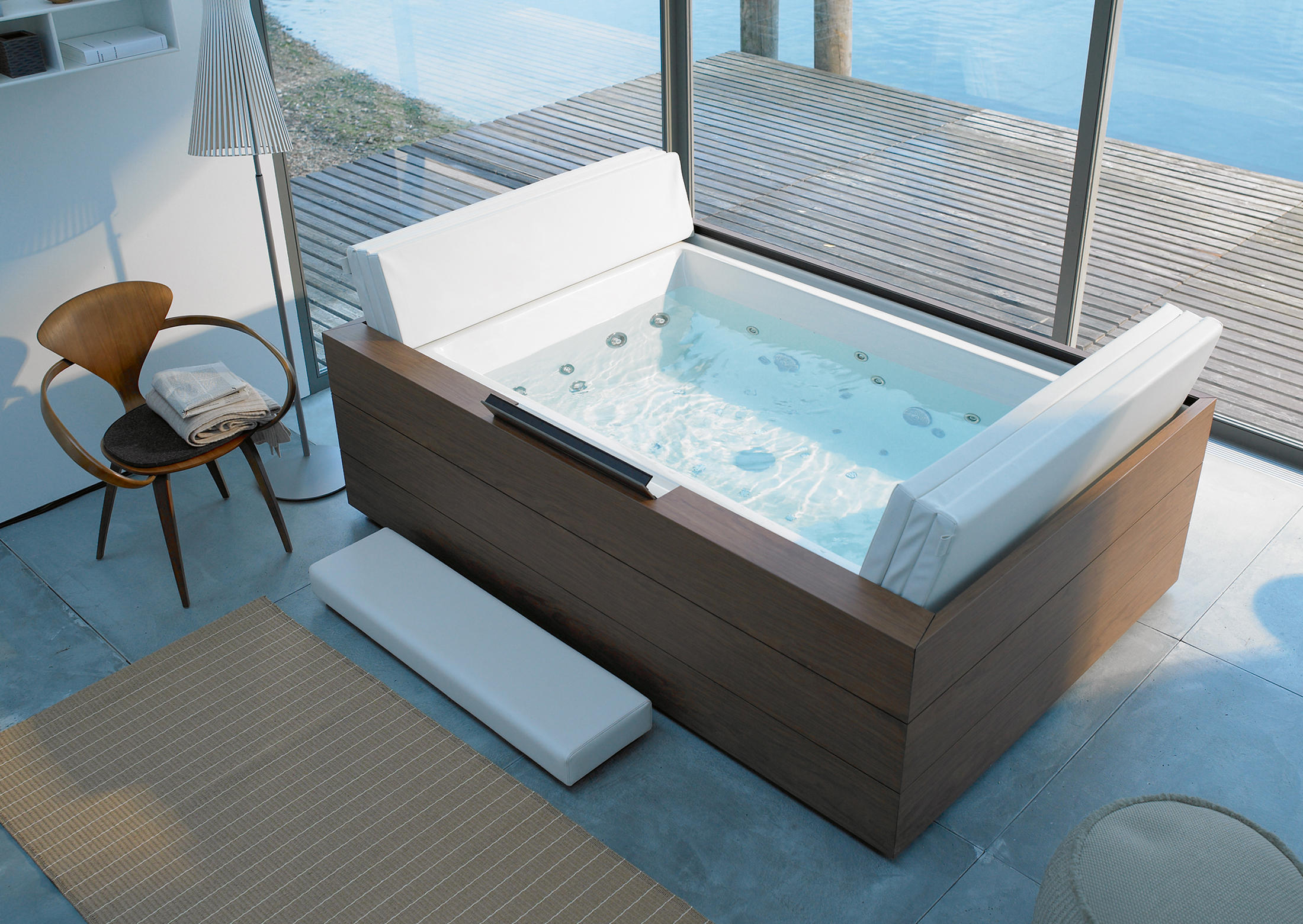 Sundeck vasca vasche ad isola duravit architonic for Sundecks designs