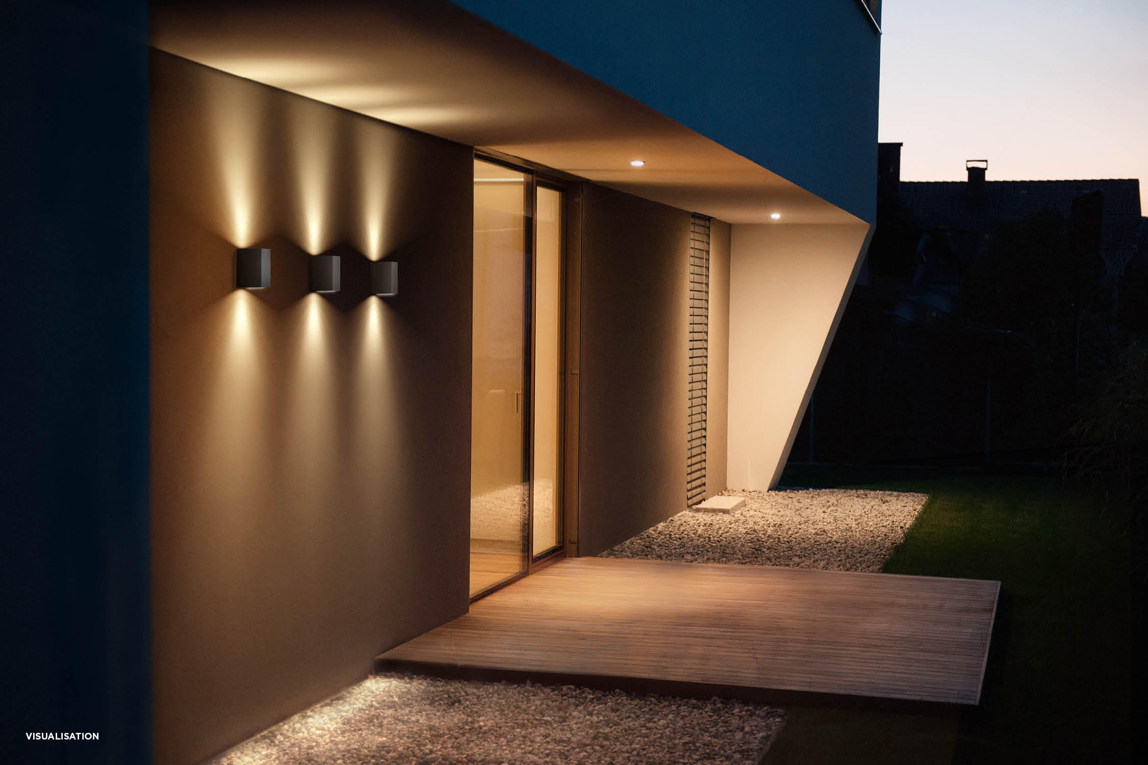 Exterior Wall: TUBE 1.0 - Outdoor Wall Lights From Wever & Ducré