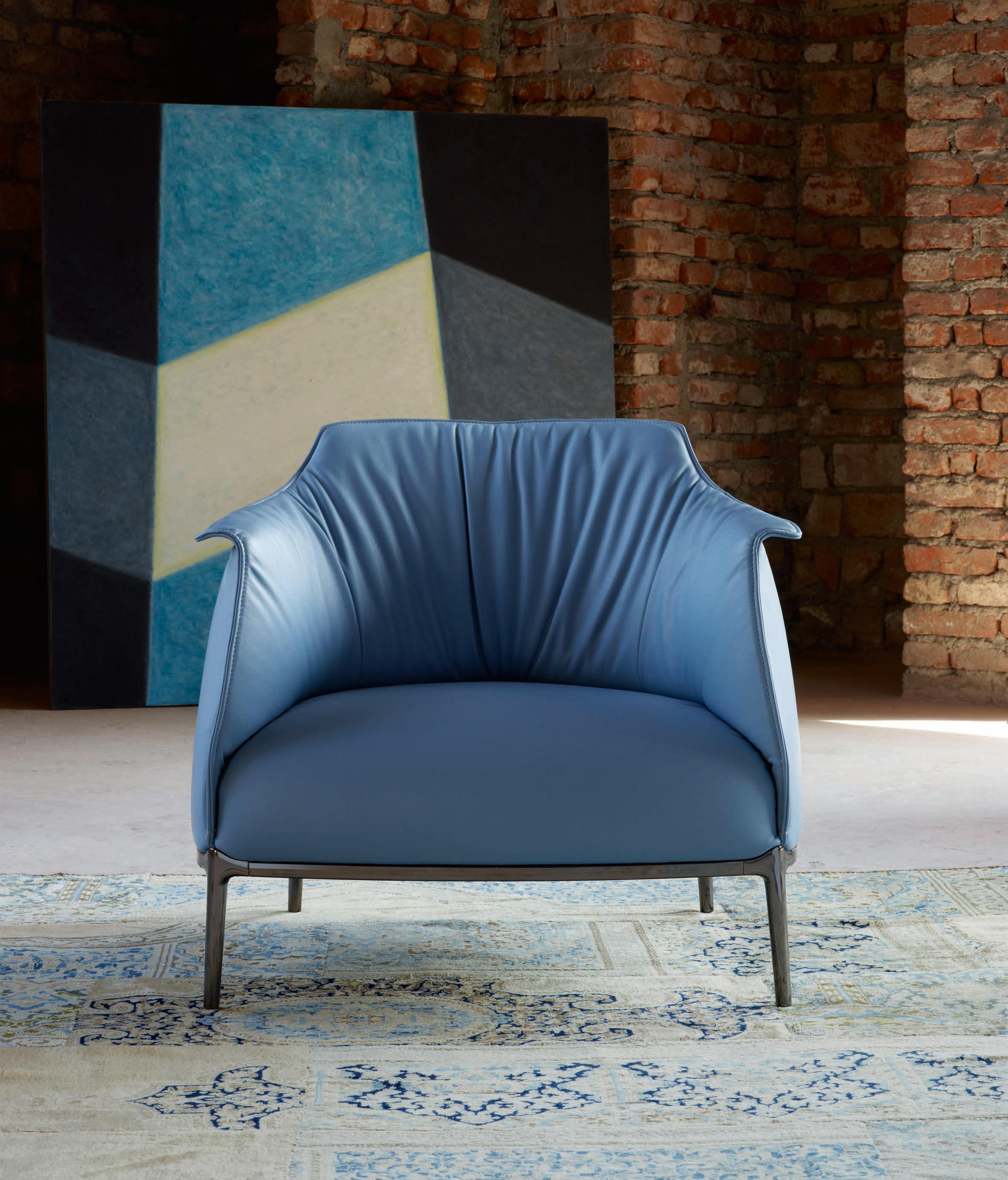 Archibald lounge chairs from poltrona frau architonic for Poltronafrau