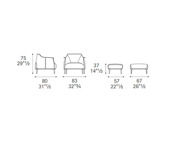 ARCHIBALD - Sessel von Poltrona Frau | Architonic