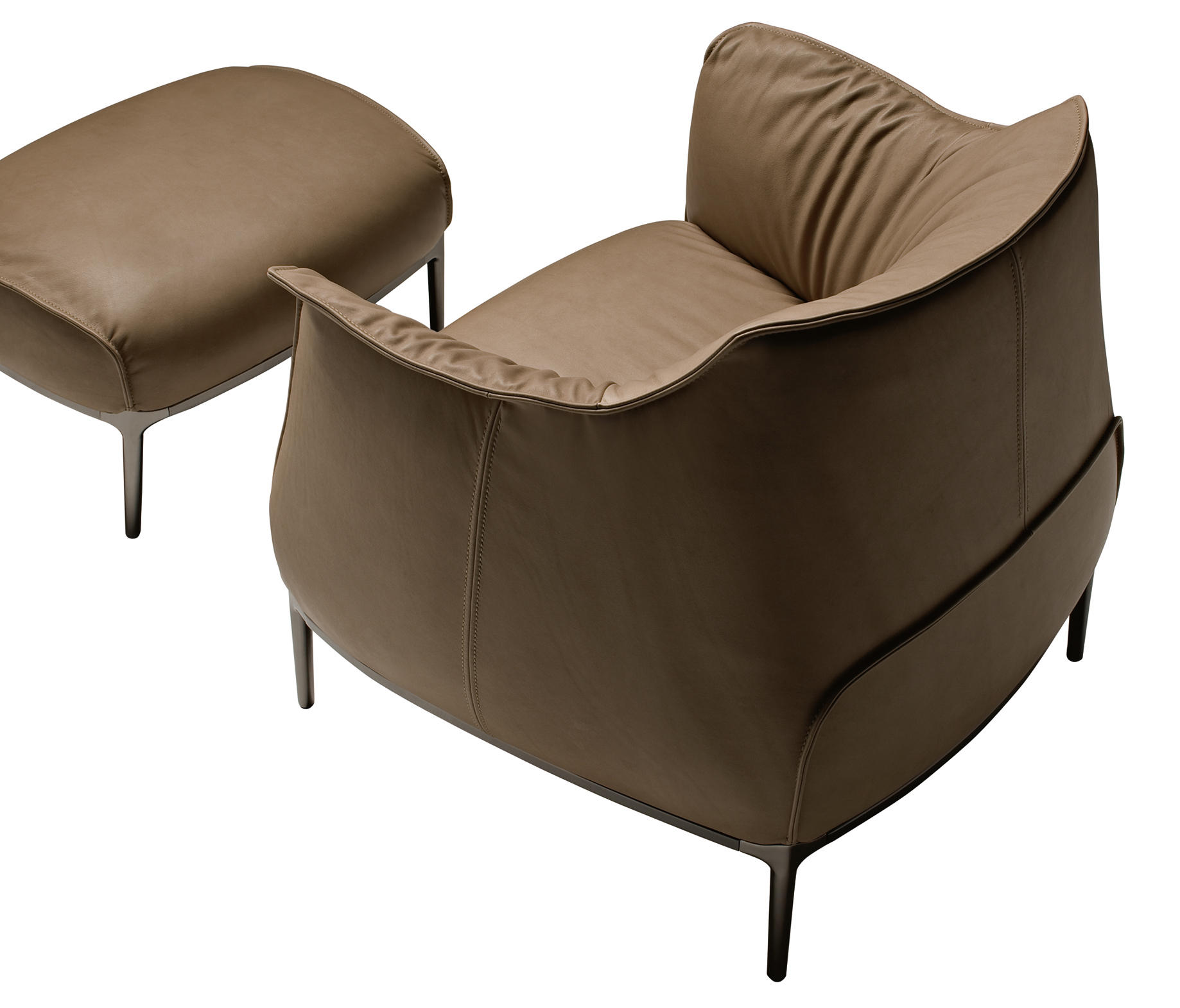 archibald lounge chairs from poltrona frau architonic. Black Bedroom Furniture Sets. Home Design Ideas