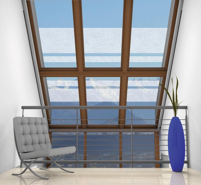 Statisch haftende transparentfolie murano folien von for Glasdekoration neu