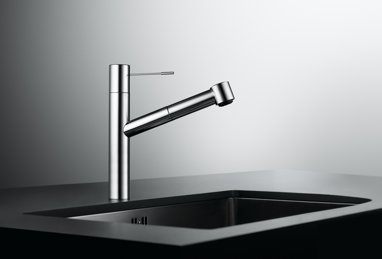 KWC ONO AUTOMATIC FIXED SPOUT Wash basin taps from KWC