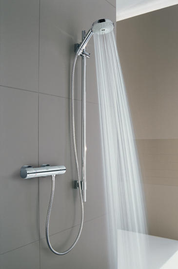 grohtherm 3000 cosmopolitan thermostatic shower mixer 1 2 shower controls from grohe architonic. Black Bedroom Furniture Sets. Home Design Ideas
