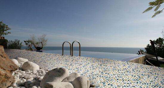 Gemme del golfo multicolor 34x34 mosaici ceramica savoia italia