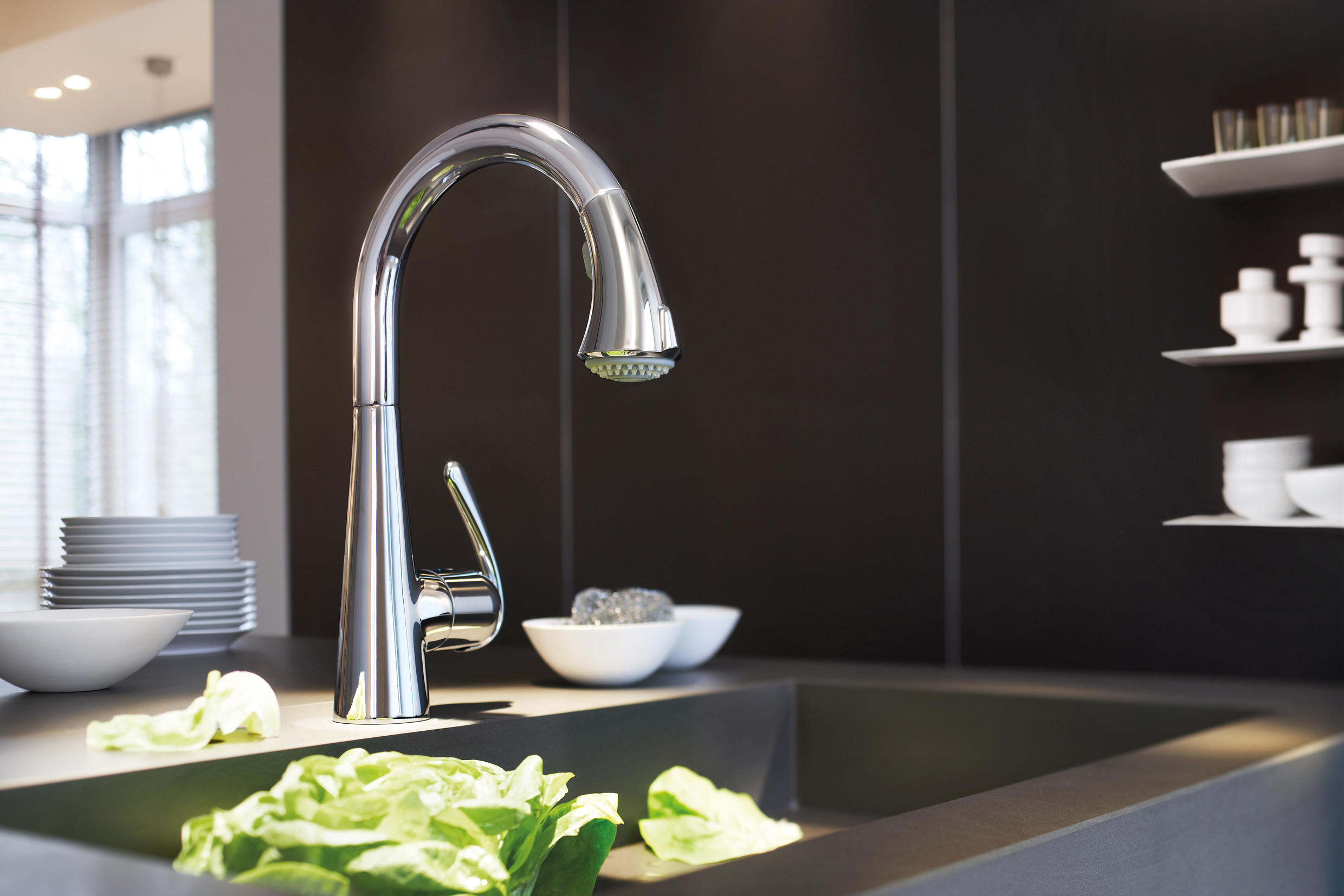 ZEDRA TOUCH ELECTRONIC SINGLE-LEVER SINK MIXER 1/2\