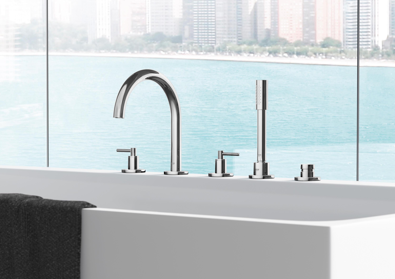Atrio Single Hole Basin Mixer 1 2 L Size Wash Basin Taps From