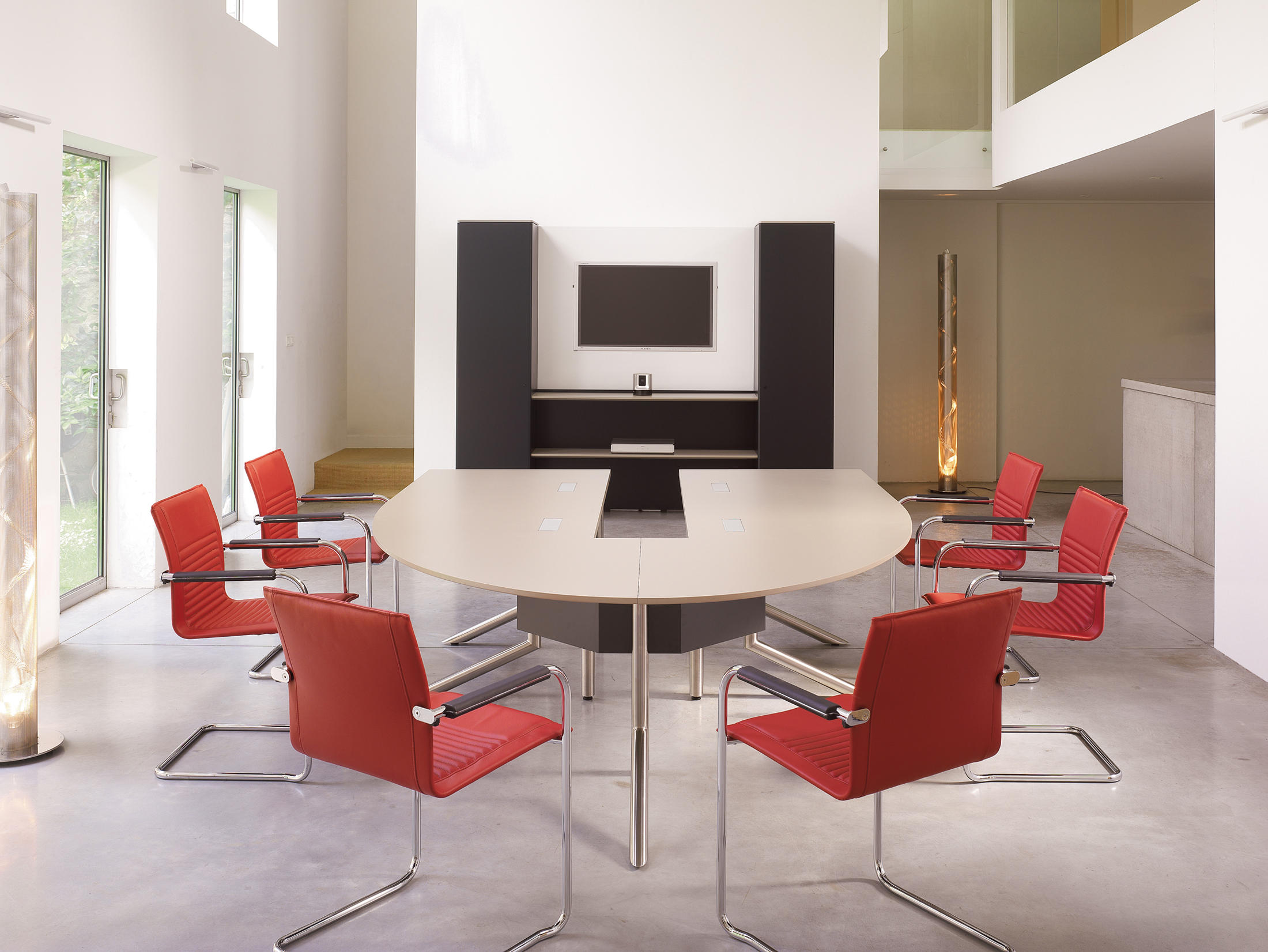 AUDIENCE CONFERENCE TABLE Contract Tables From Haworth Architonic - Haworth conference table