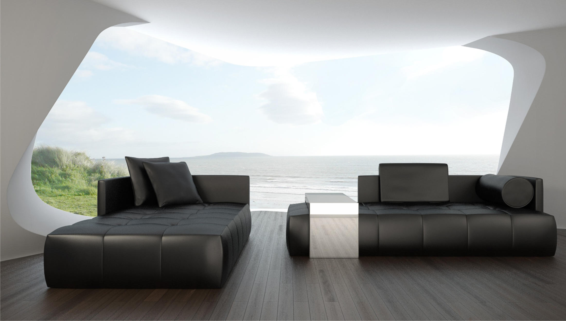 Chill out sofa sofas from th ny collection architonic for Couch im raum
