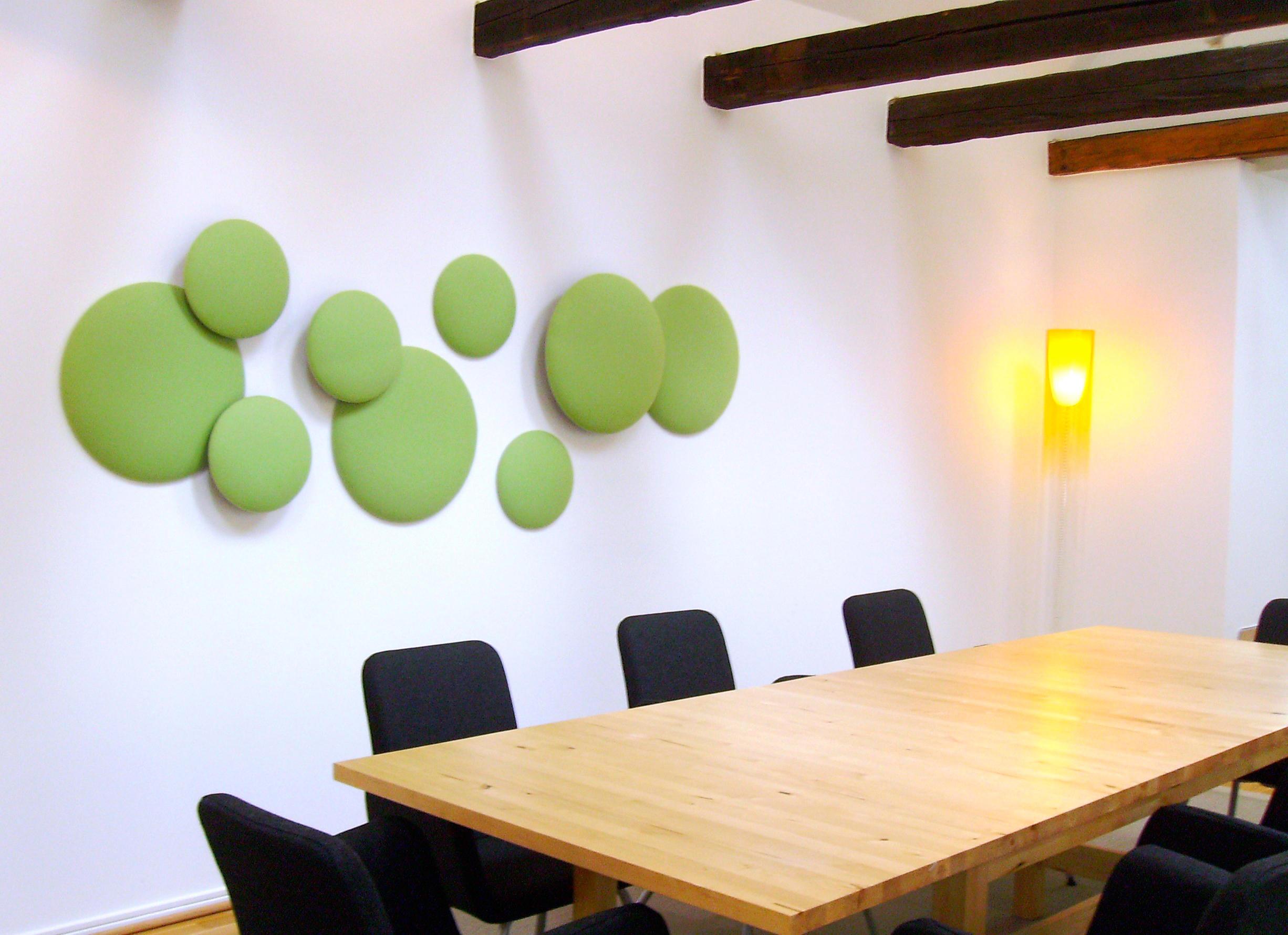 wandgestaltung wohnzimmer kreise : Woolbubbles Moon 11 Wandpaneele Von Wobedo Design Architonic