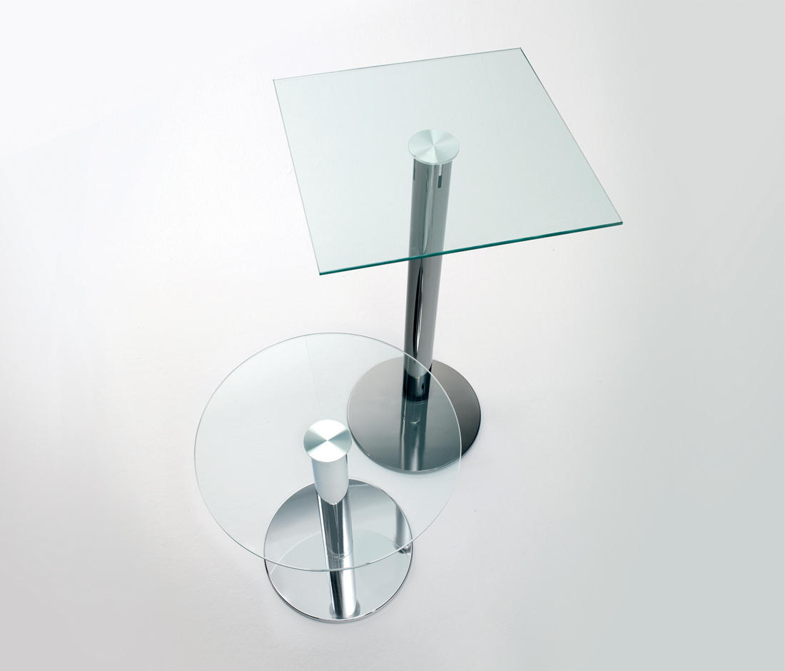 Tau auxiliary table side tables from planning sisplamo architonic - Petite table en verre ...