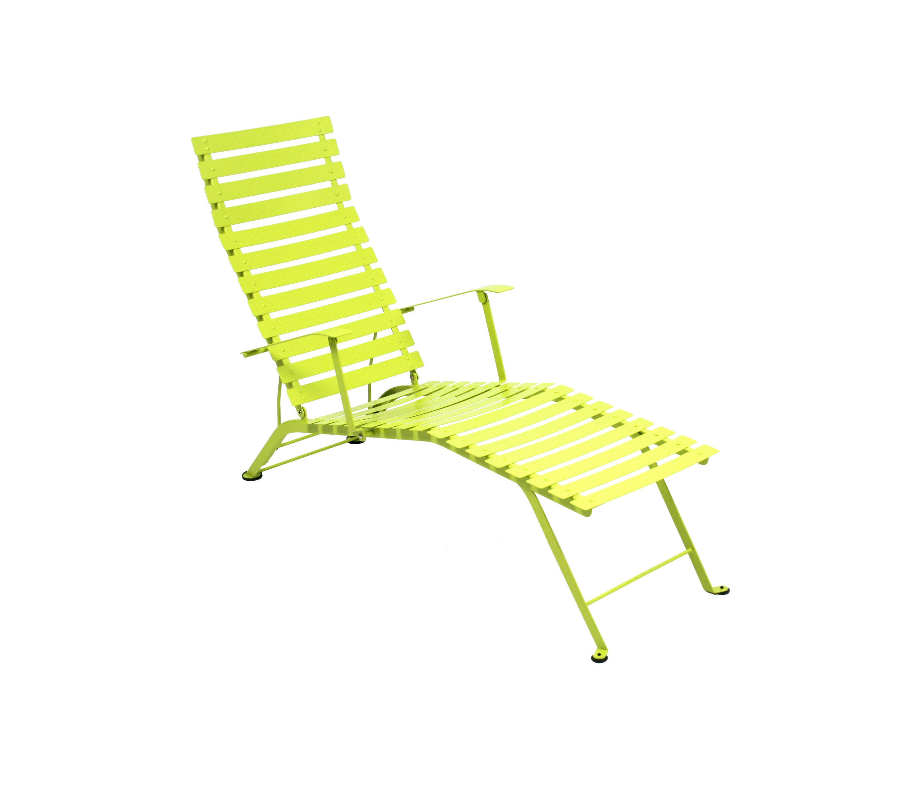 BISTRO ADJUSTABLE CHAISE LONGUE Sun loungers from FERMOB