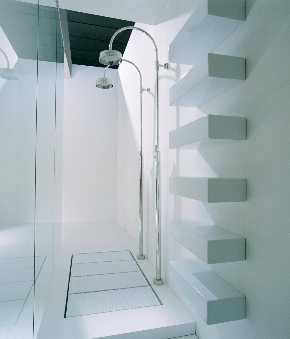 BRICK SHELF - Bath shelves from Ceramica Flaminia   Architonic