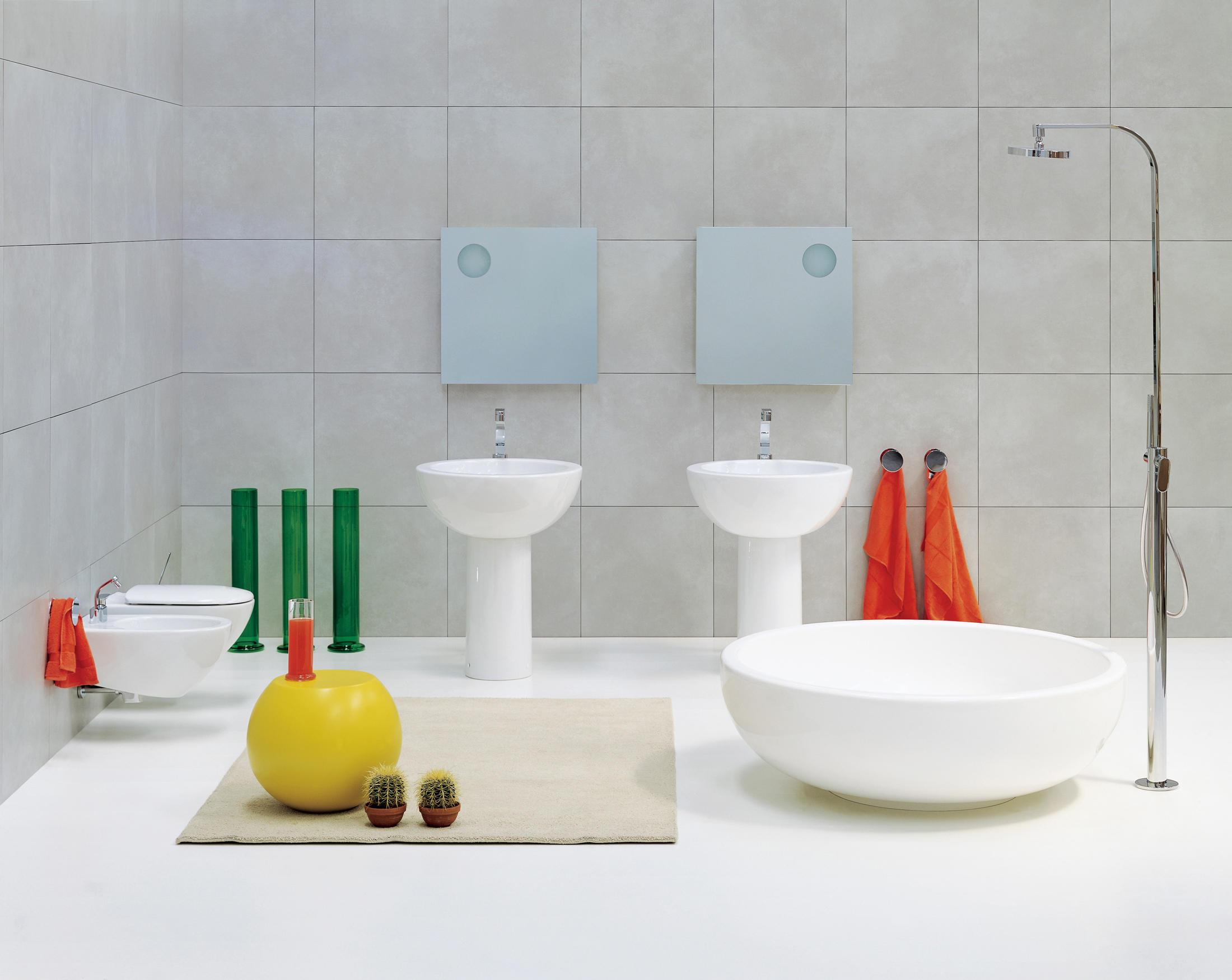 Vasca Da Bagno Flaminia Prezzi : Flaminia nuda lavabo piano rubinetteria bianco appoggio