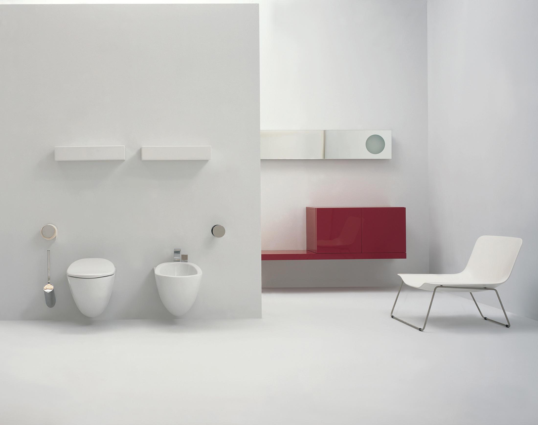 Ceramica Flaminia Serie Io.Io Wc Bidet Bidet Ceramica Flaminia Architonic