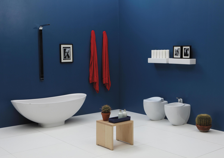 Io wc bidet inodoros de ceramica flaminia architonic for Concepto de ceramica