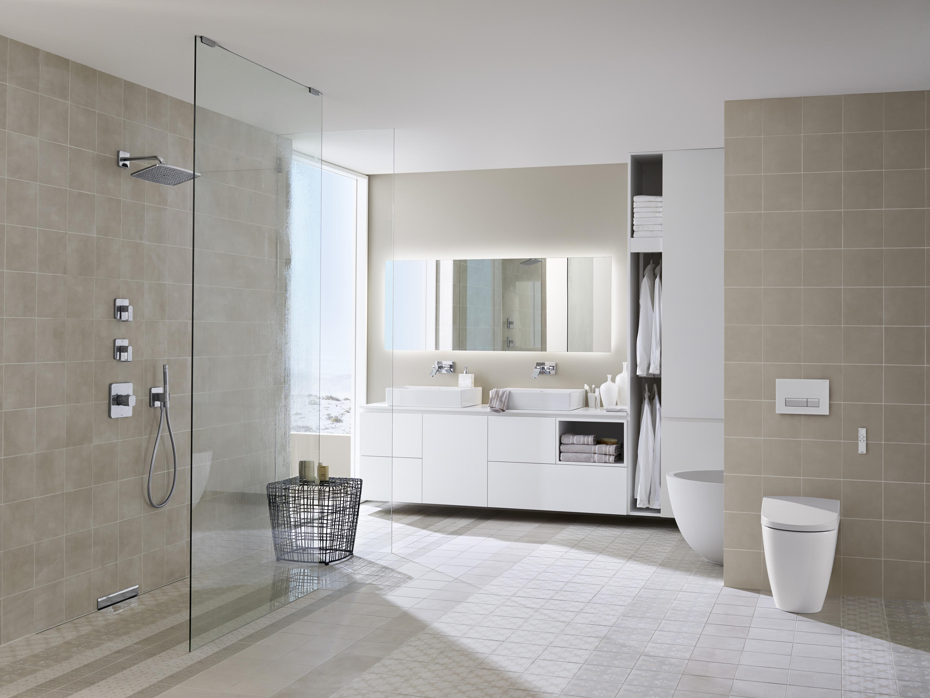 Geberit aquaclean 5000plus dusch klosetts von geberit for Inspiration badezimmer