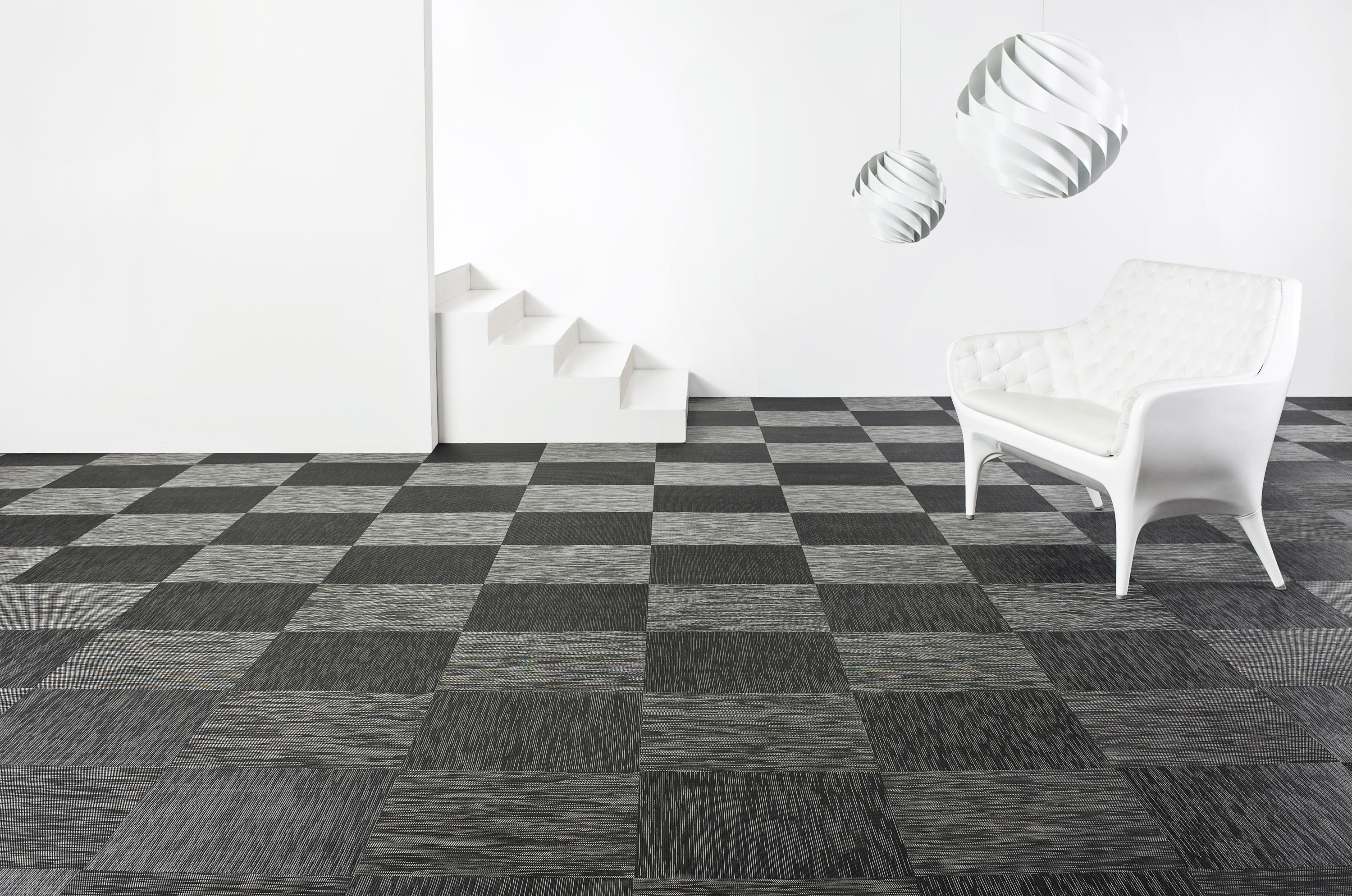 graphic checked wall to wall carpets from bolon architonic. Black Bedroom Furniture Sets. Home Design Ideas