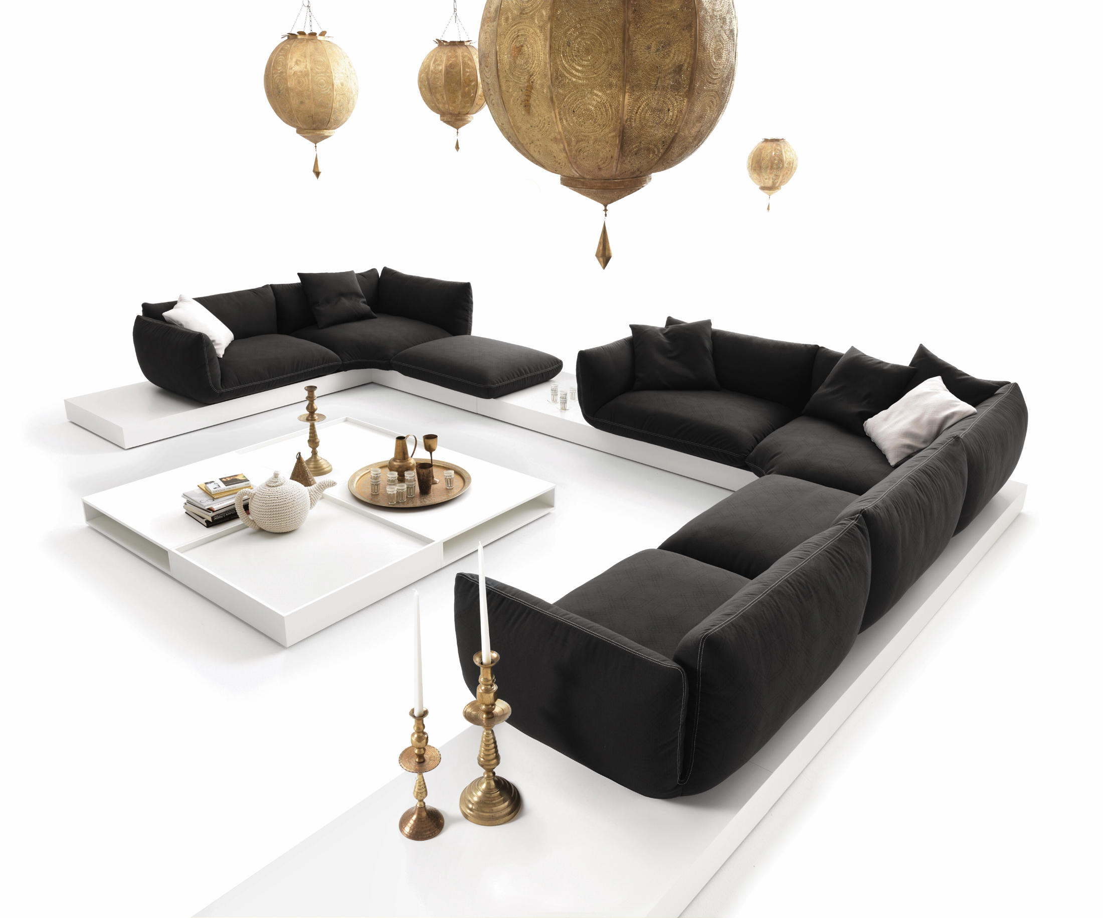 jalis sofas by cor architonic. Black Bedroom Furniture Sets. Home Design Ideas
