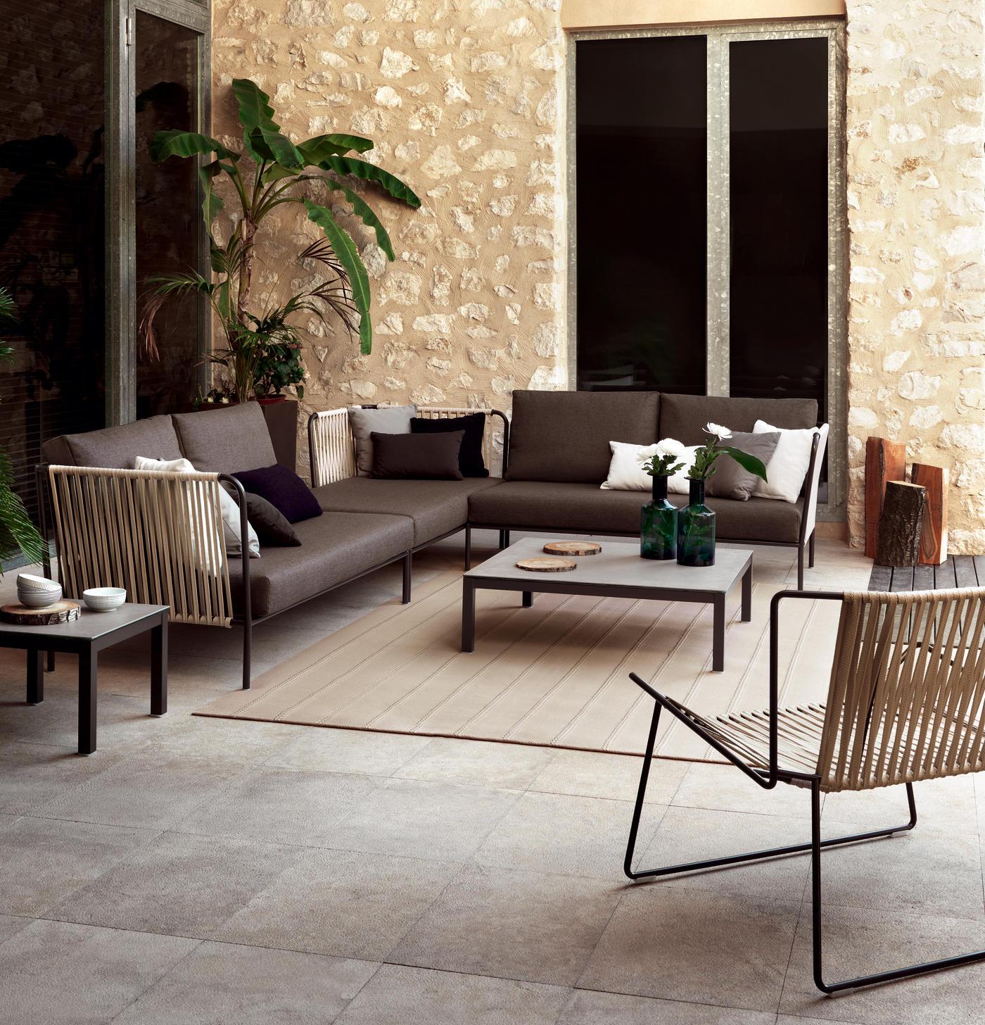 Nido Xl Hand Woven Sofa Garden Sofas From Expormim