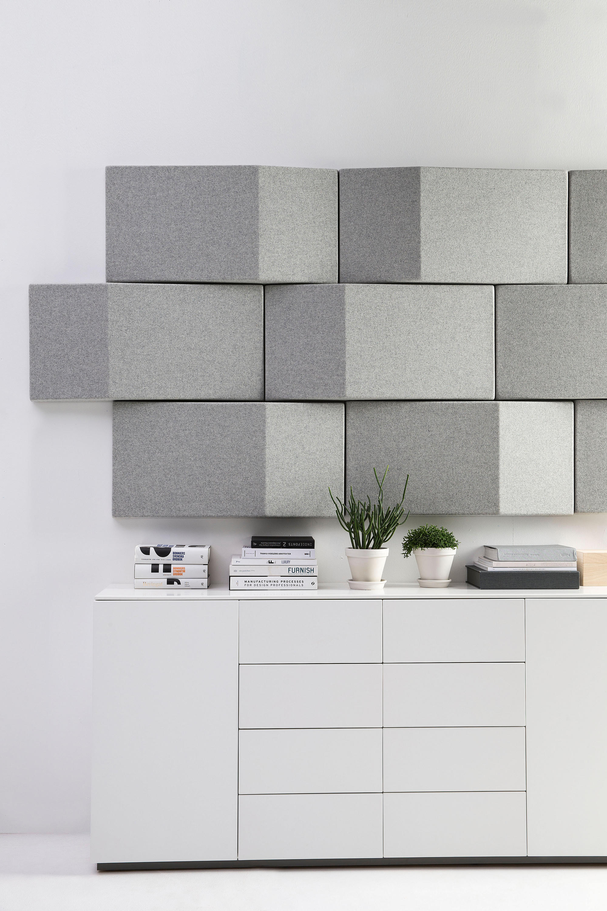 Basic Home Wall Materials : Triline acoustical wall panel wood panels from abstracta