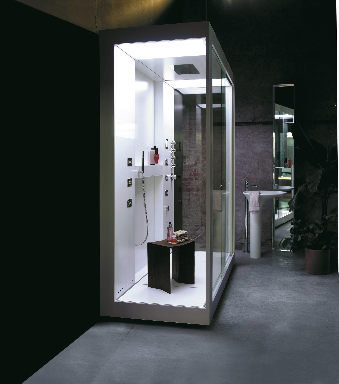 cabine de douche lavabo integre