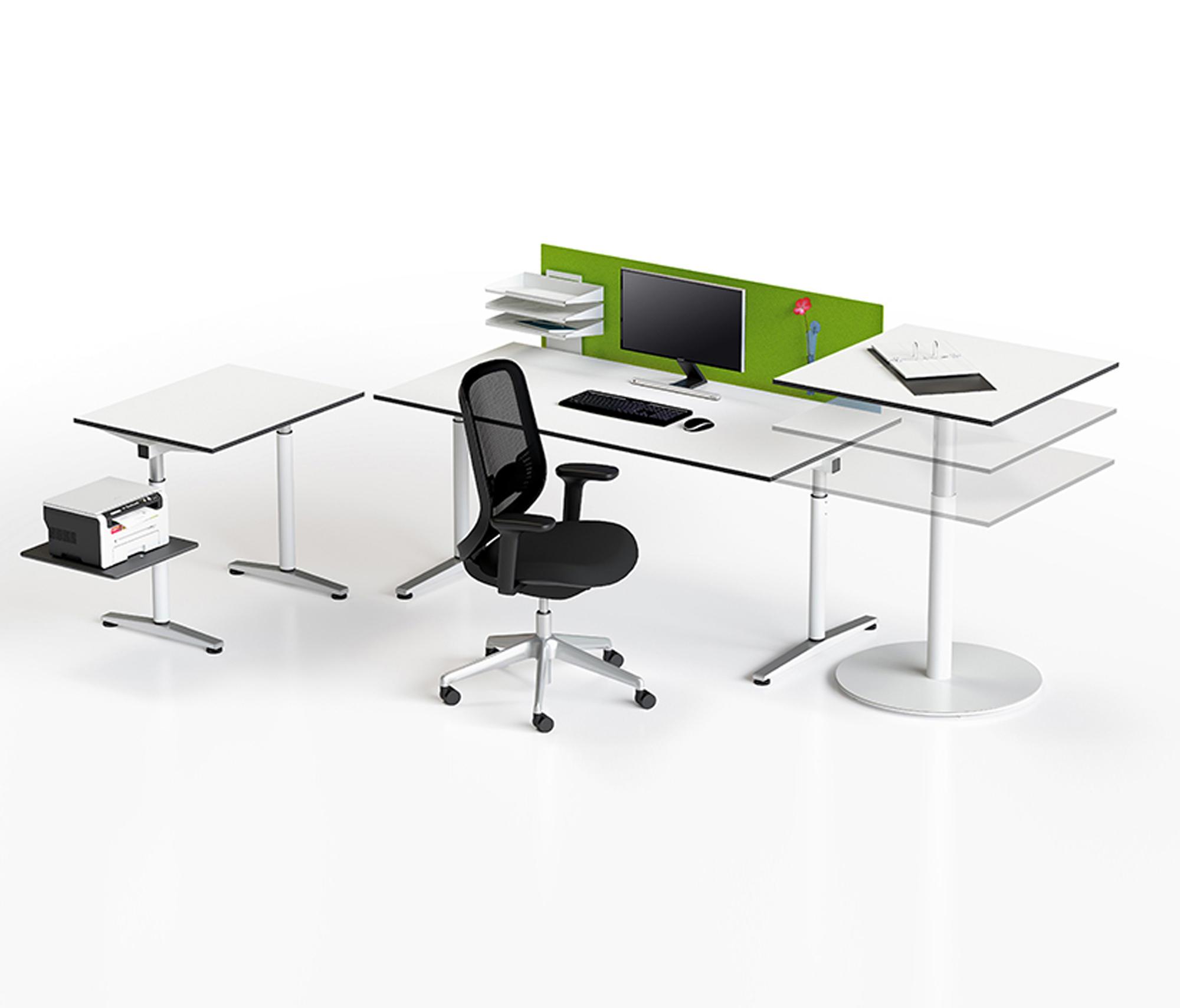 Table De Jardin Bigla > Meno Syst Mes De Tables De Bureau De Bigla Office Architonic