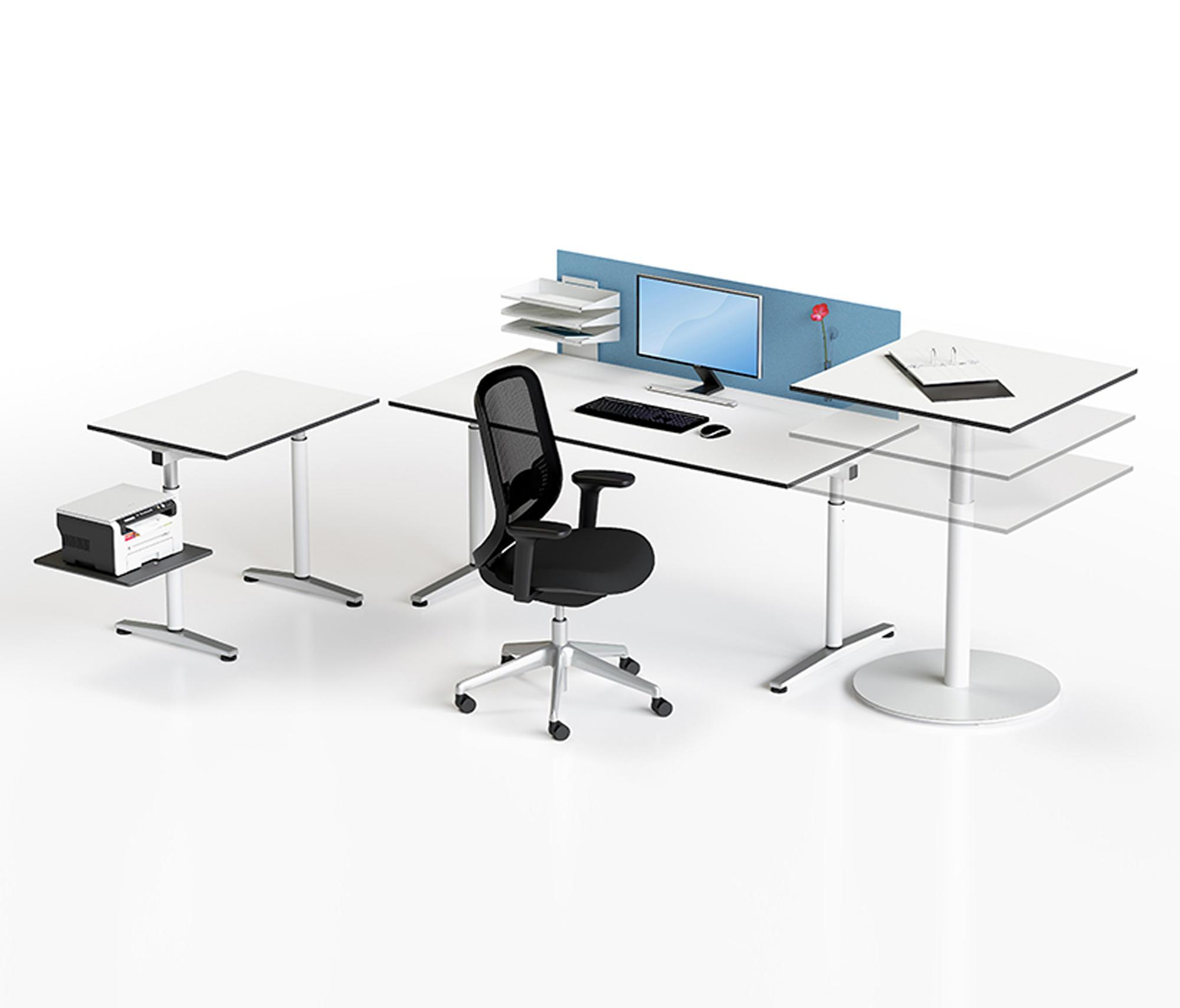 Meno Syst Mes De Tables De Bureau De Bigla Office Architonic # Table De Jardin Bigla