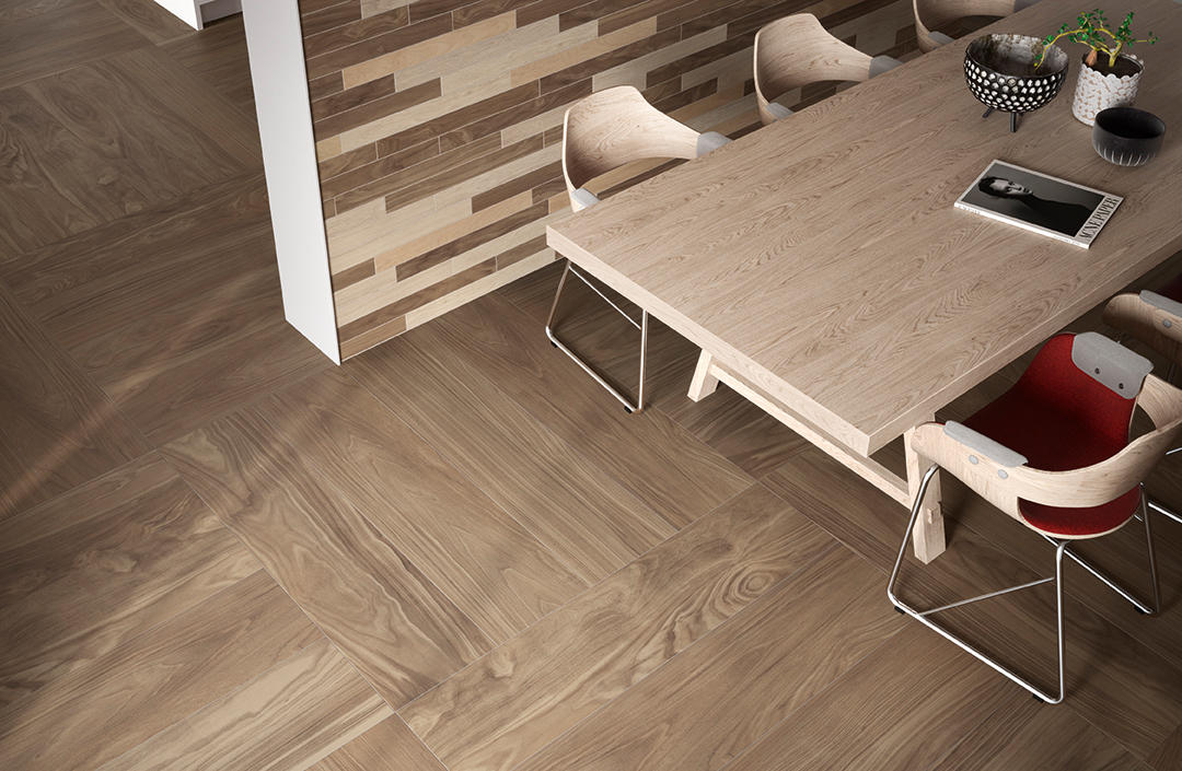 Fabula robur 20x120 floor tiles from caesar architonic for Forets carrelage