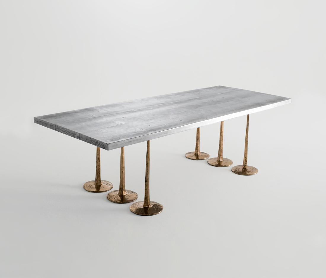 Appuntate finto legno tavoli da pranzo dilmos architonic for Produttori tavoli