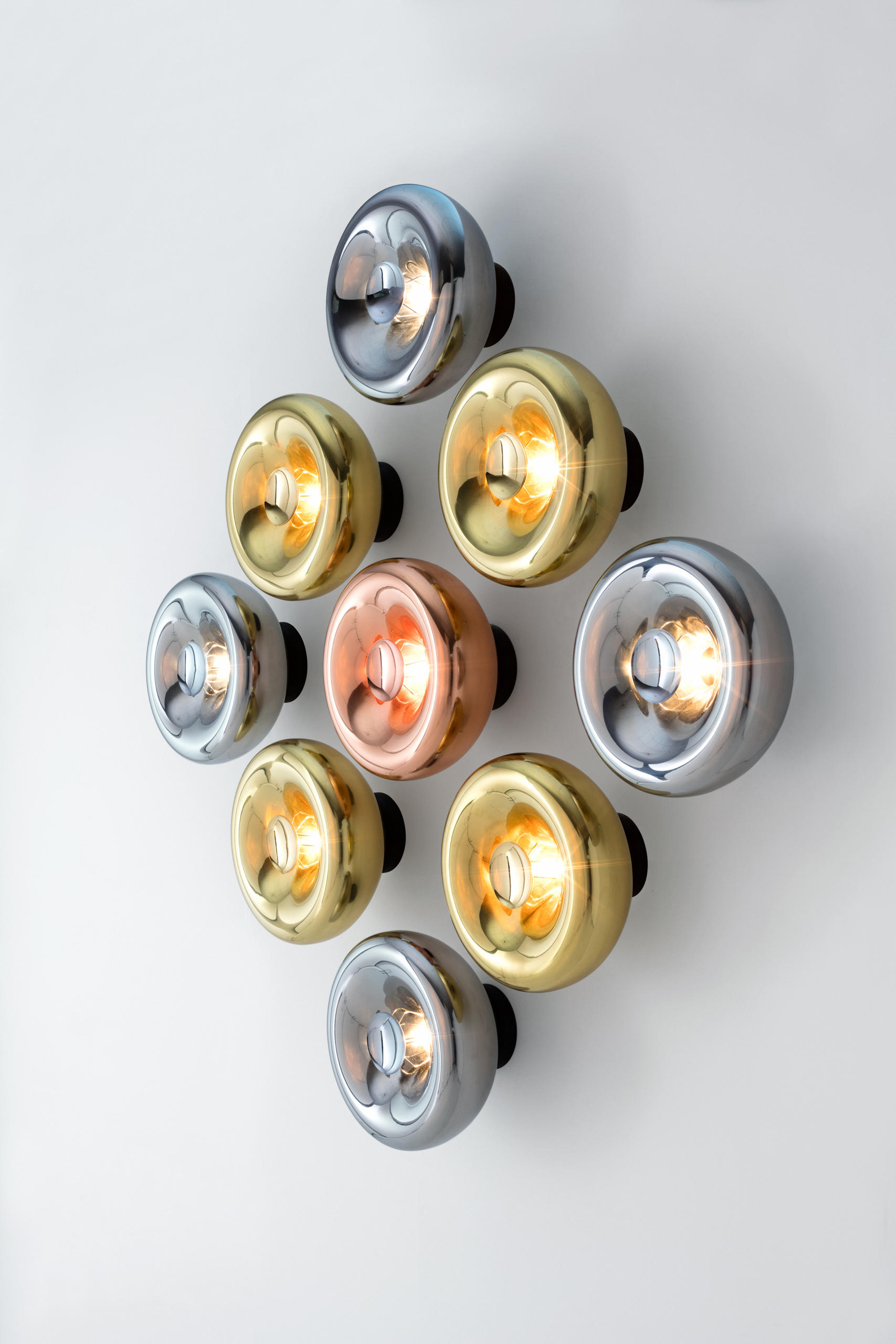 Void Pendant Brass Suspended Lights From Tom Dixon