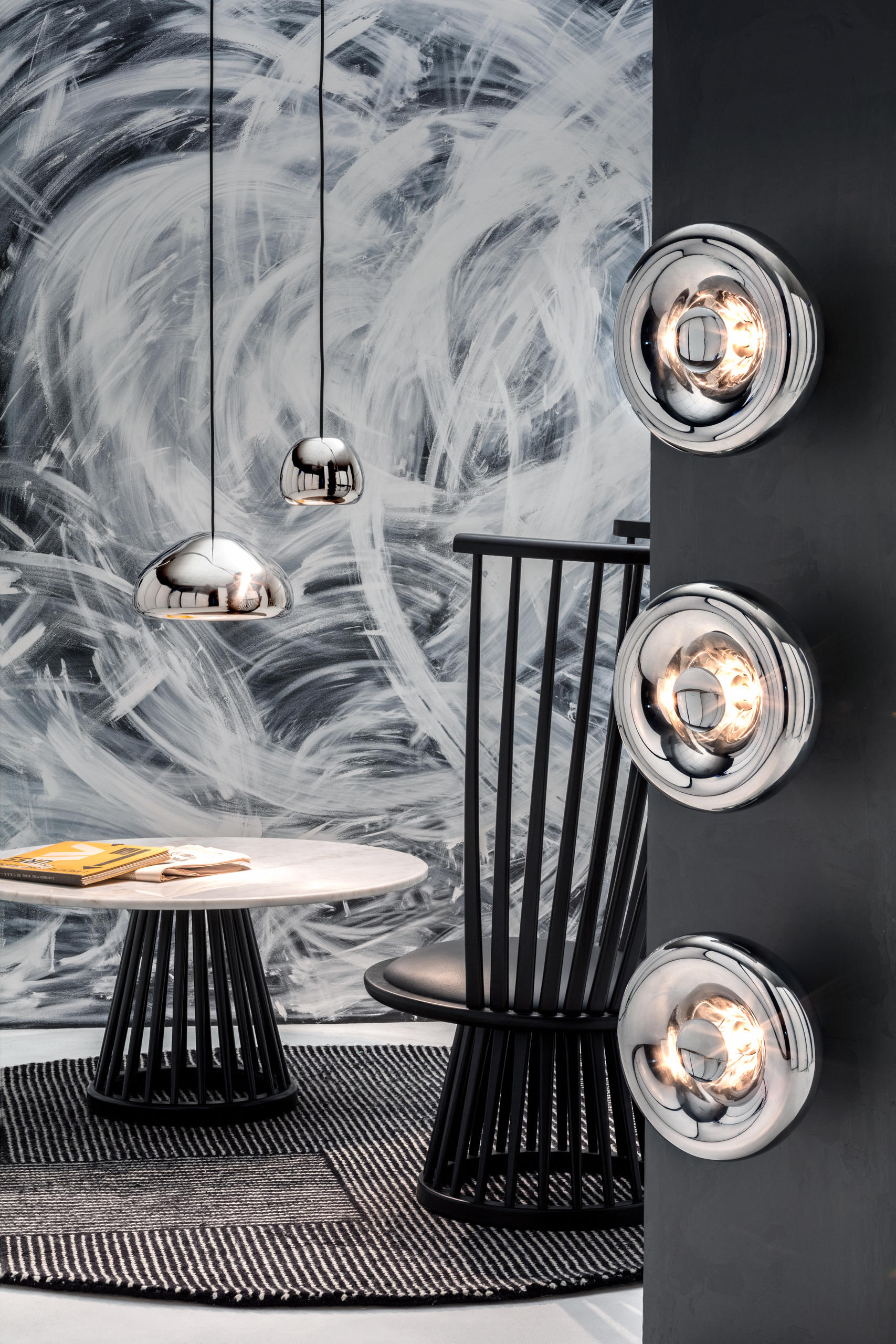 Void pendant brass suspended lights from tom dixon architonic void pendant brass by tom dixon aloadofball Choice Image