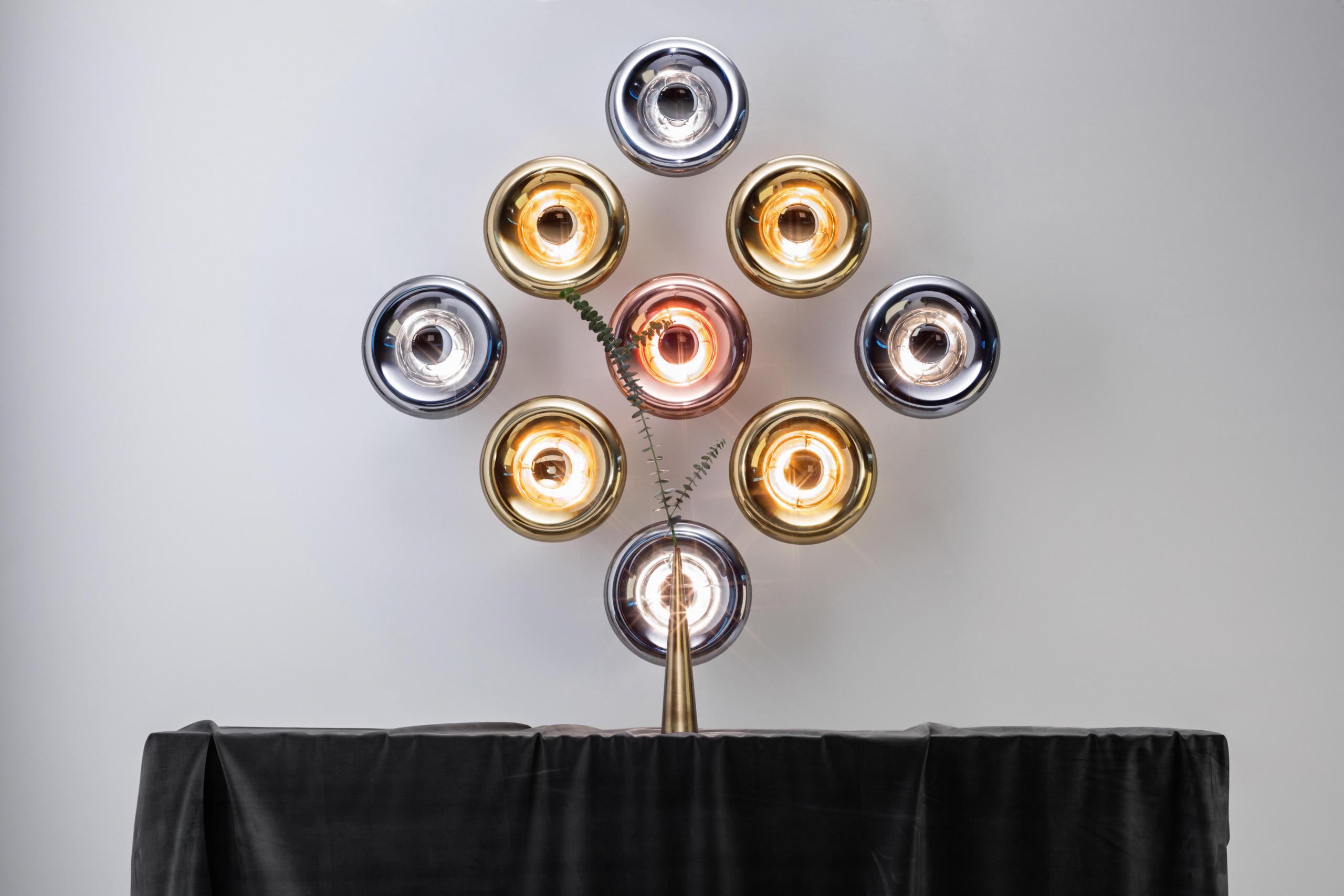 Void pendant brass iluminacin general de tom dixon architonic void pendant brass de tom dixon aloadofball Choice Image