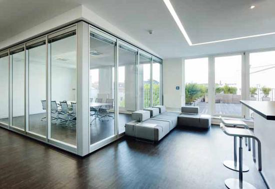 moveo smart line trennwandsysteme von dormakaba architonic. Black Bedroom Furniture Sets. Home Design Ideas