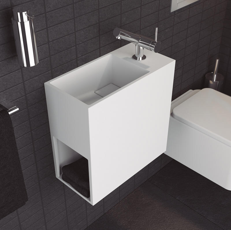 Compact wash basins from cosmic architonic - Credence pour lave main ...