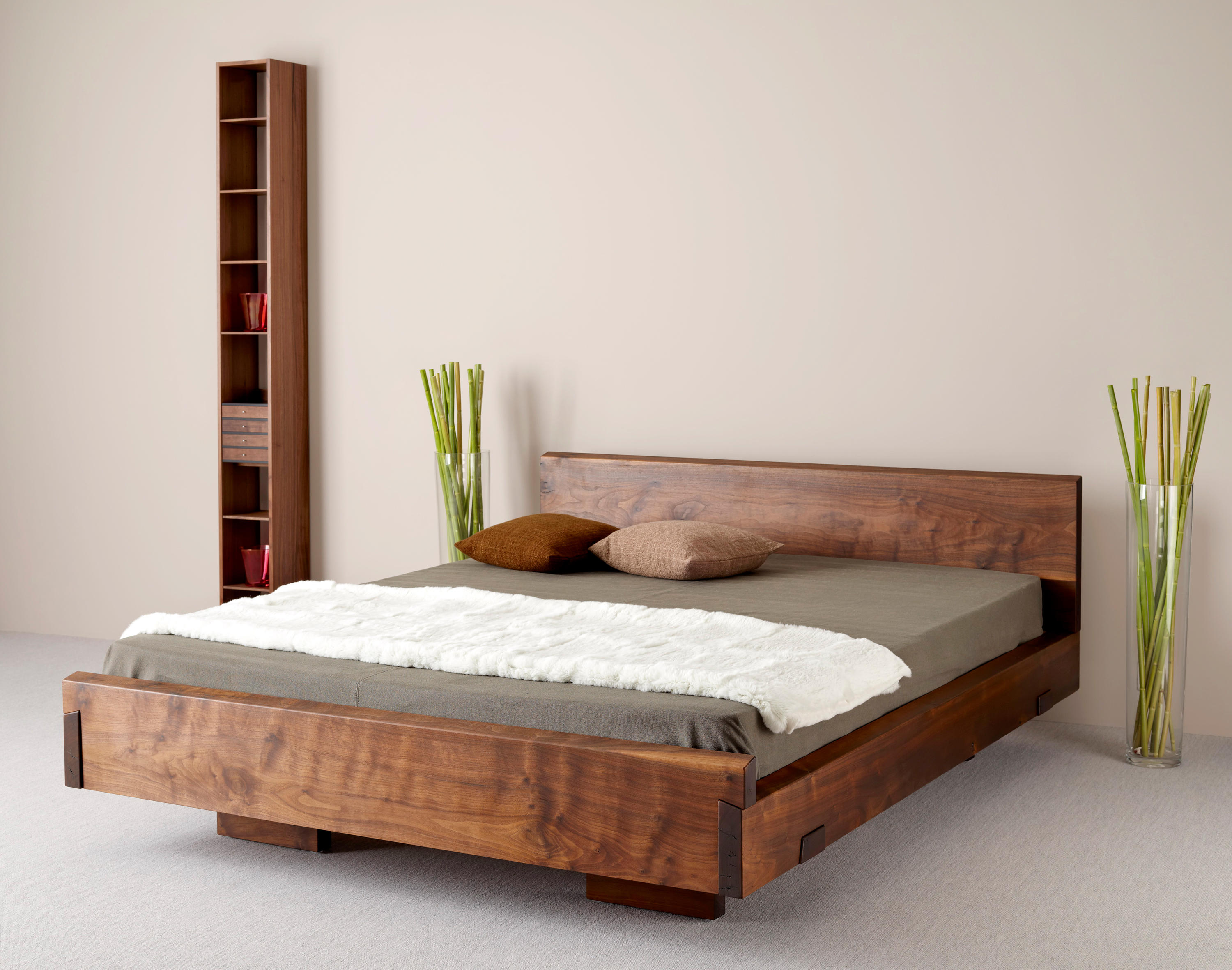 Ign timber night double beds from ign design architonic - Designs of double bed ...