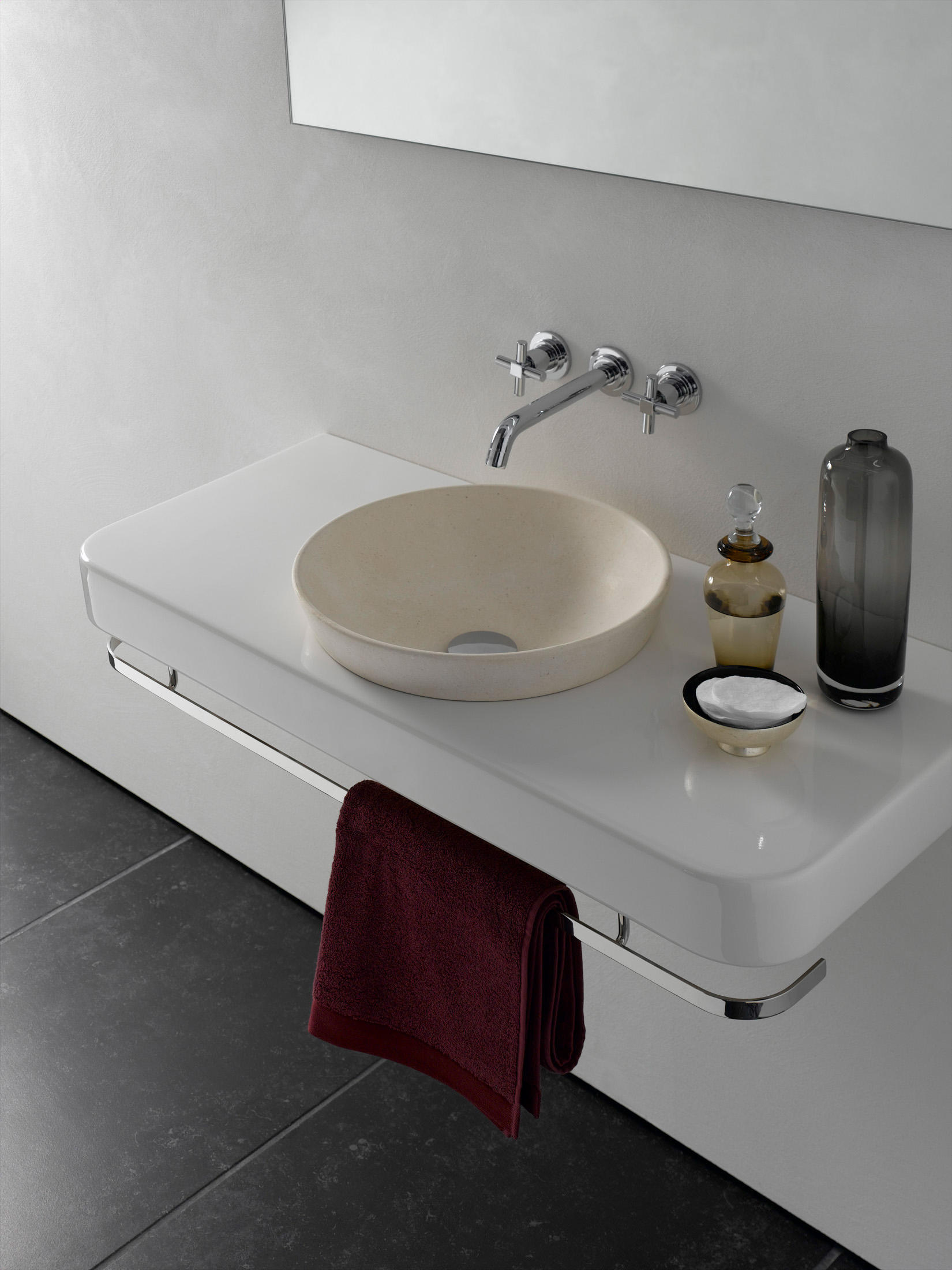 Water Jewels Counter Washbasin Undercounter Basin Wash