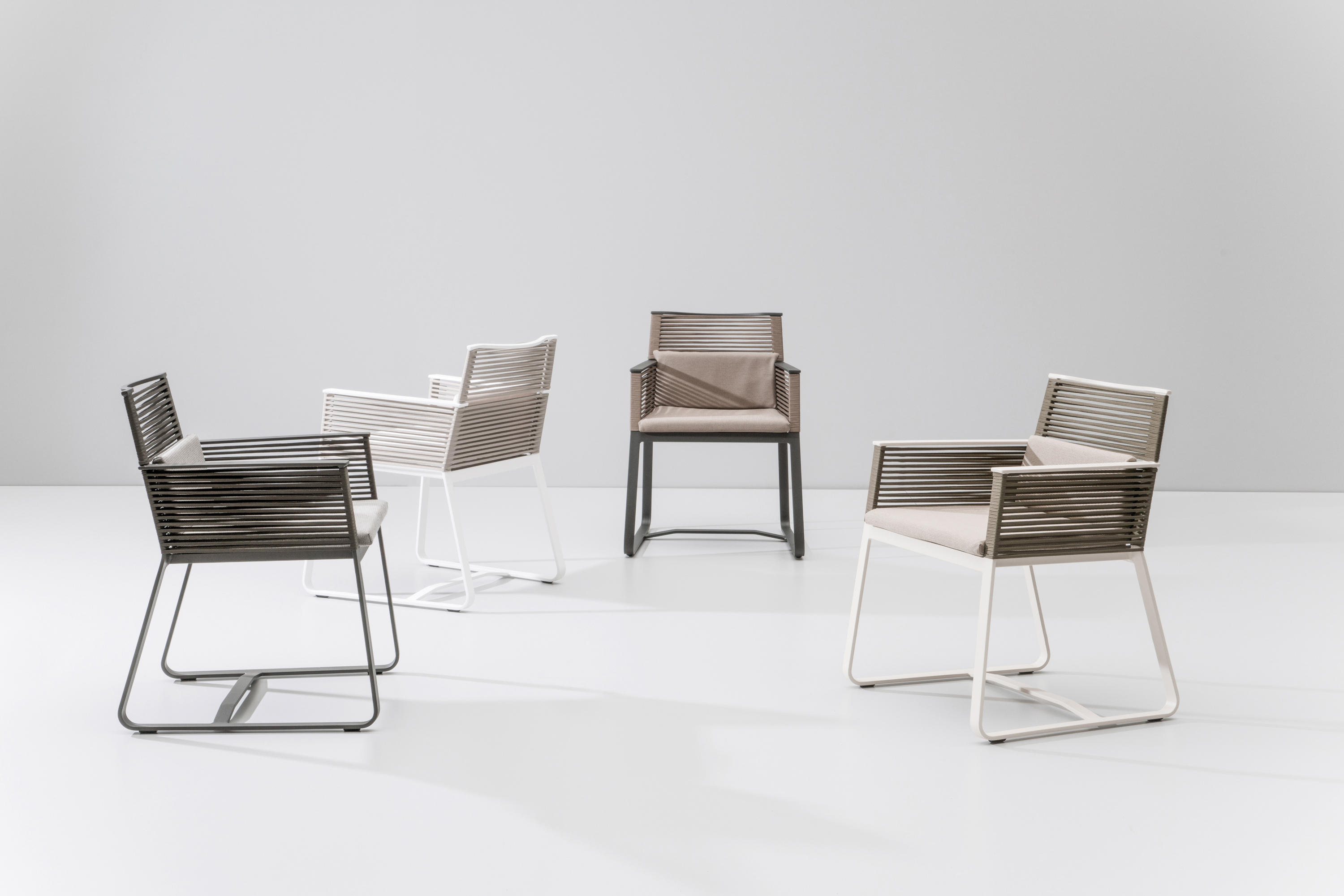 Landscape Dining Armchair Garden Chairs From Kettal