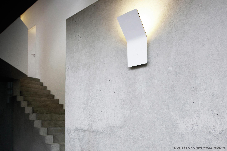 oneled wandleuchte indirekt wandleuchten von oneled. Black Bedroom Furniture Sets. Home Design Ideas