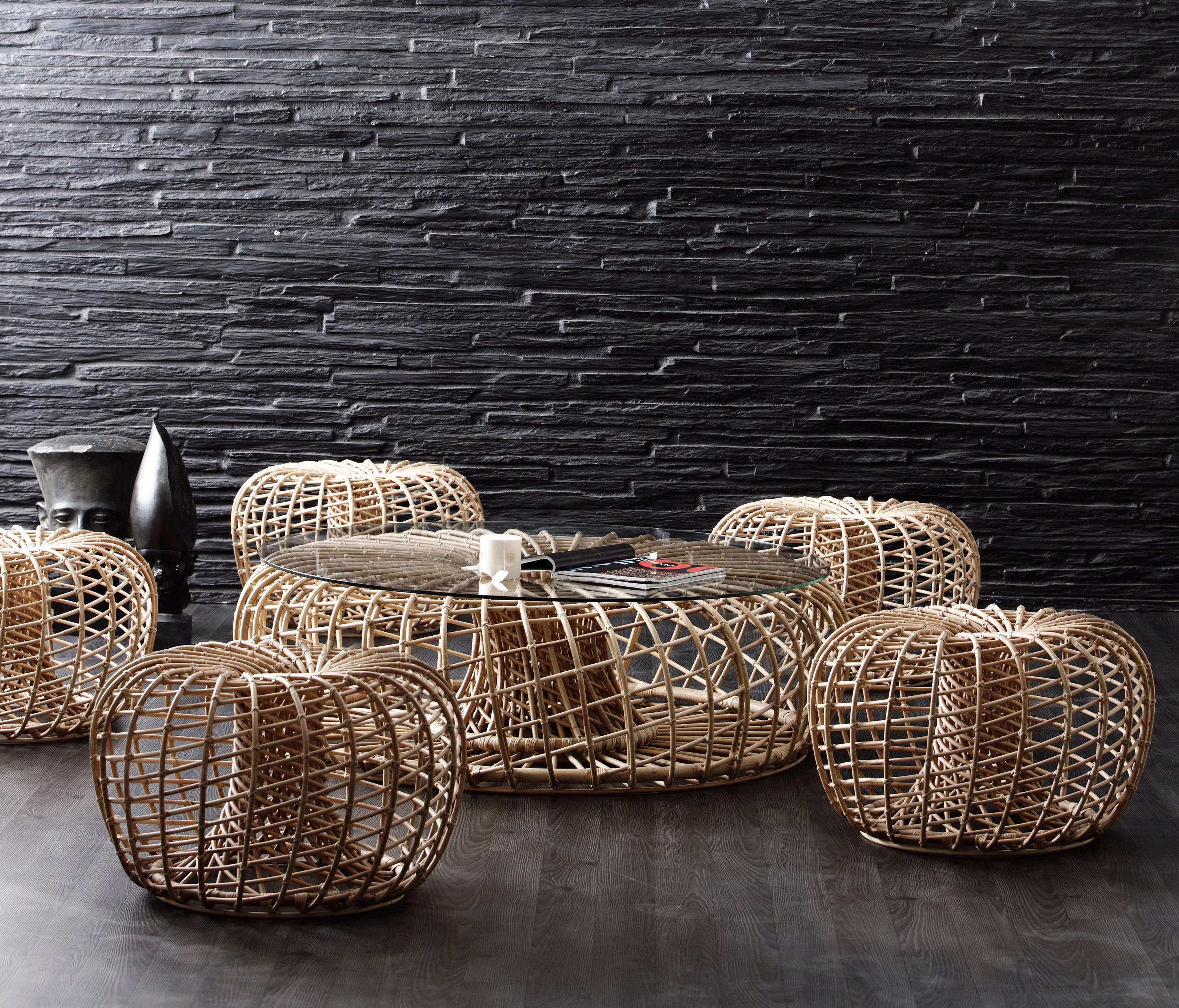 Nest Lounge Chair Armchairs From Cane Line Architonic