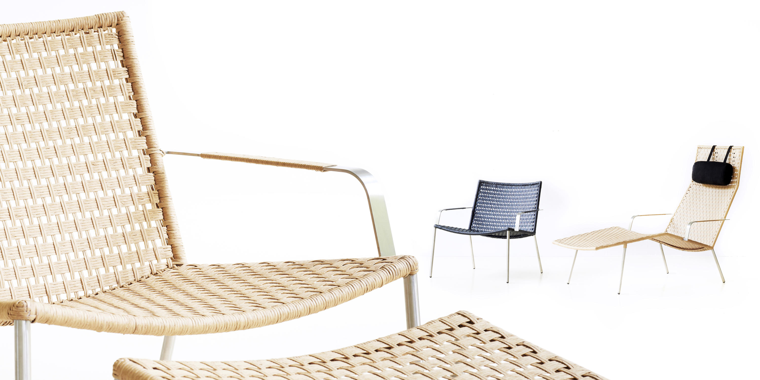 Miraculous Straw Footstool Designer Furniture Architonic Gamerscity Chair Design For Home Gamerscityorg