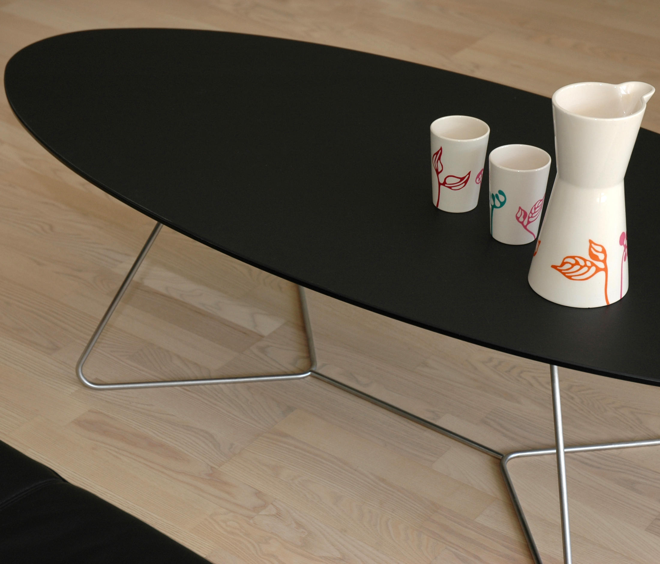 E1 Lounge tables from Peter Boy Design