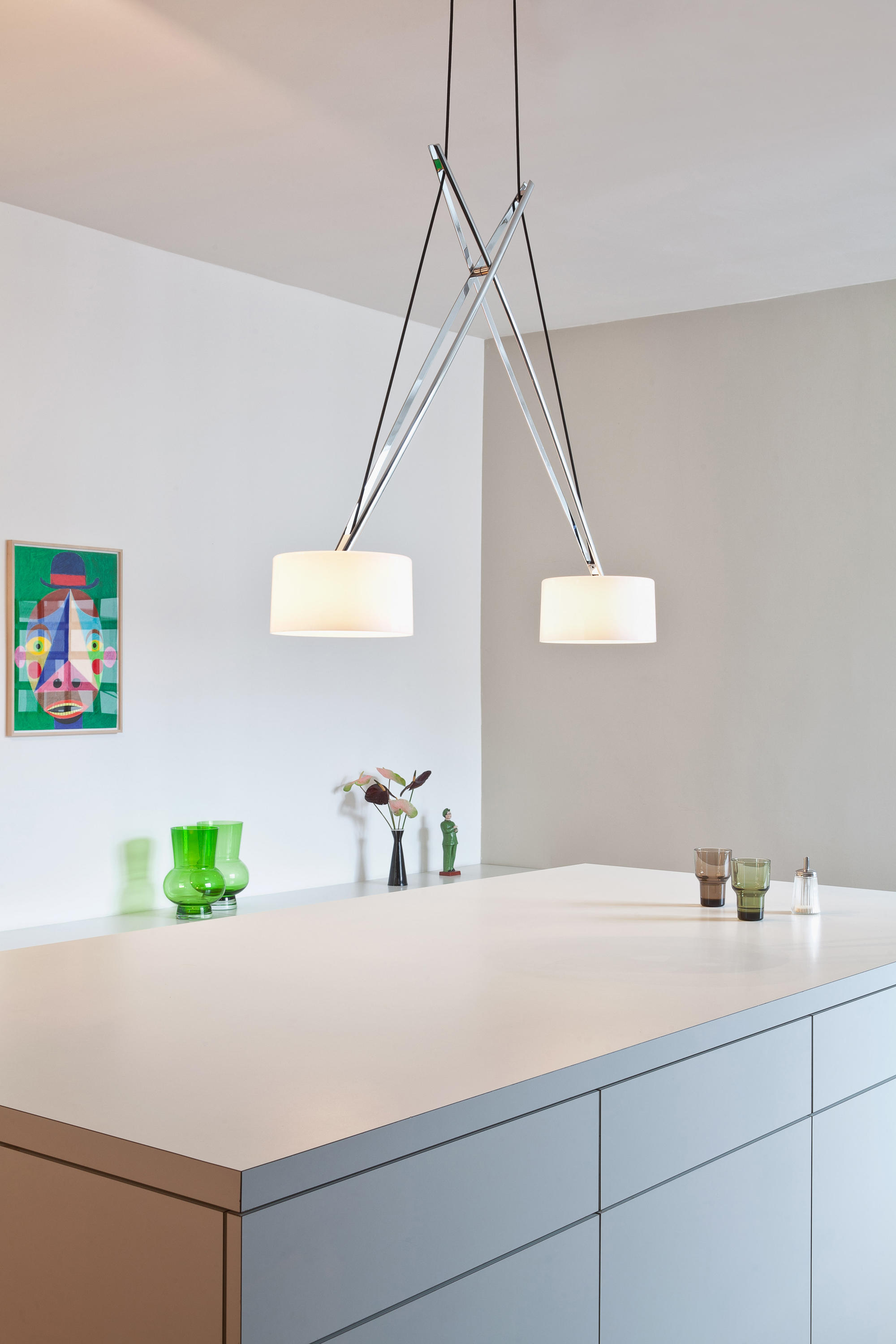 Twin Suspended Lights From Serien Lighting Architonic