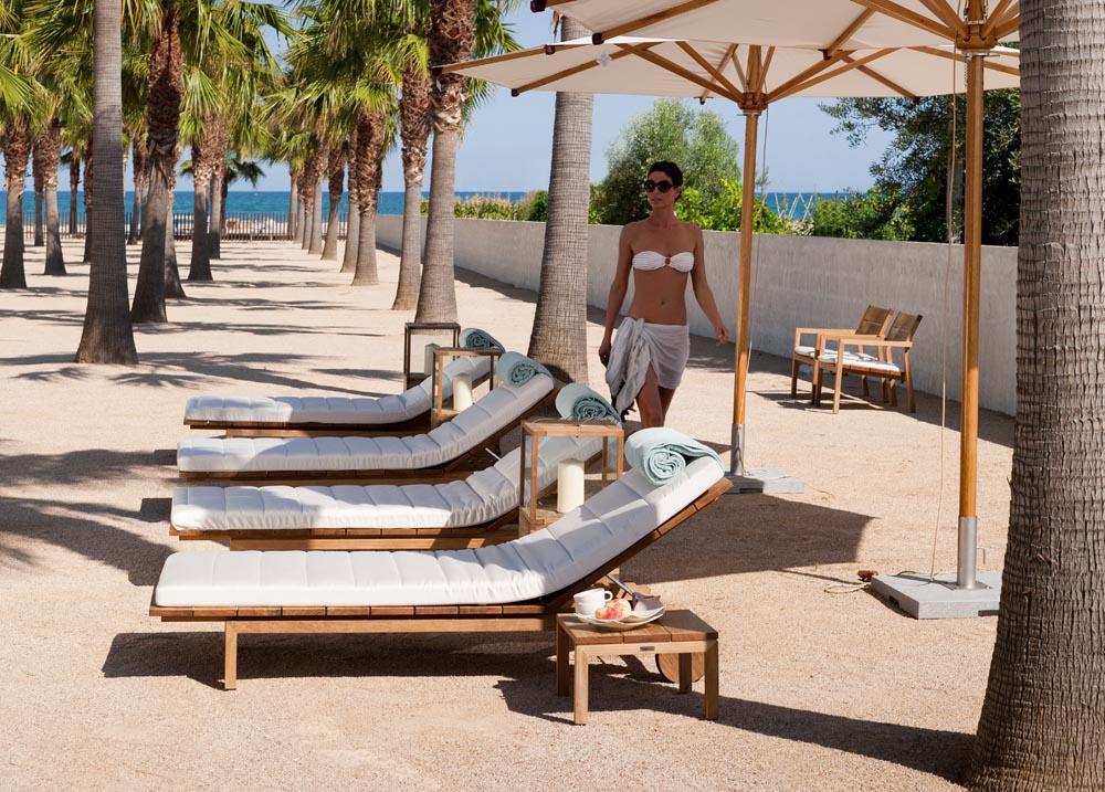 kos teak armchair - garden chairs from tribù | architonic