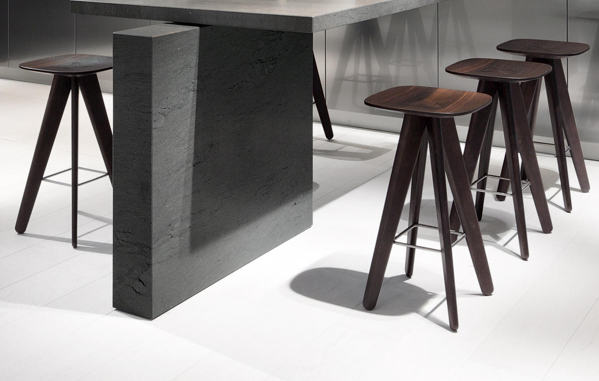 Home products chairs ics ipsilon - Ics Stool By Poliform