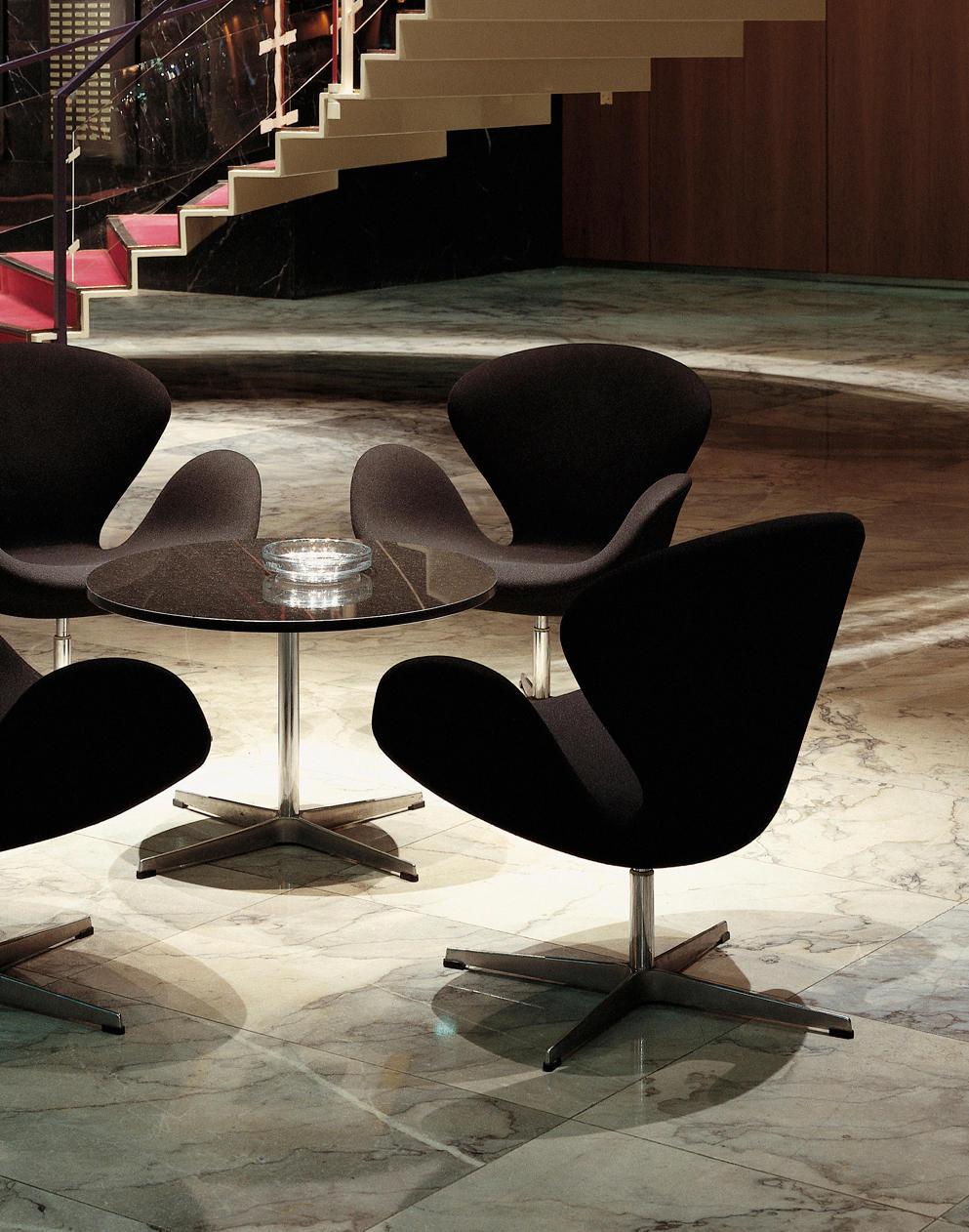 modell a603 esstische von fritz hansen architonic. Black Bedroom Furniture Sets. Home Design Ideas