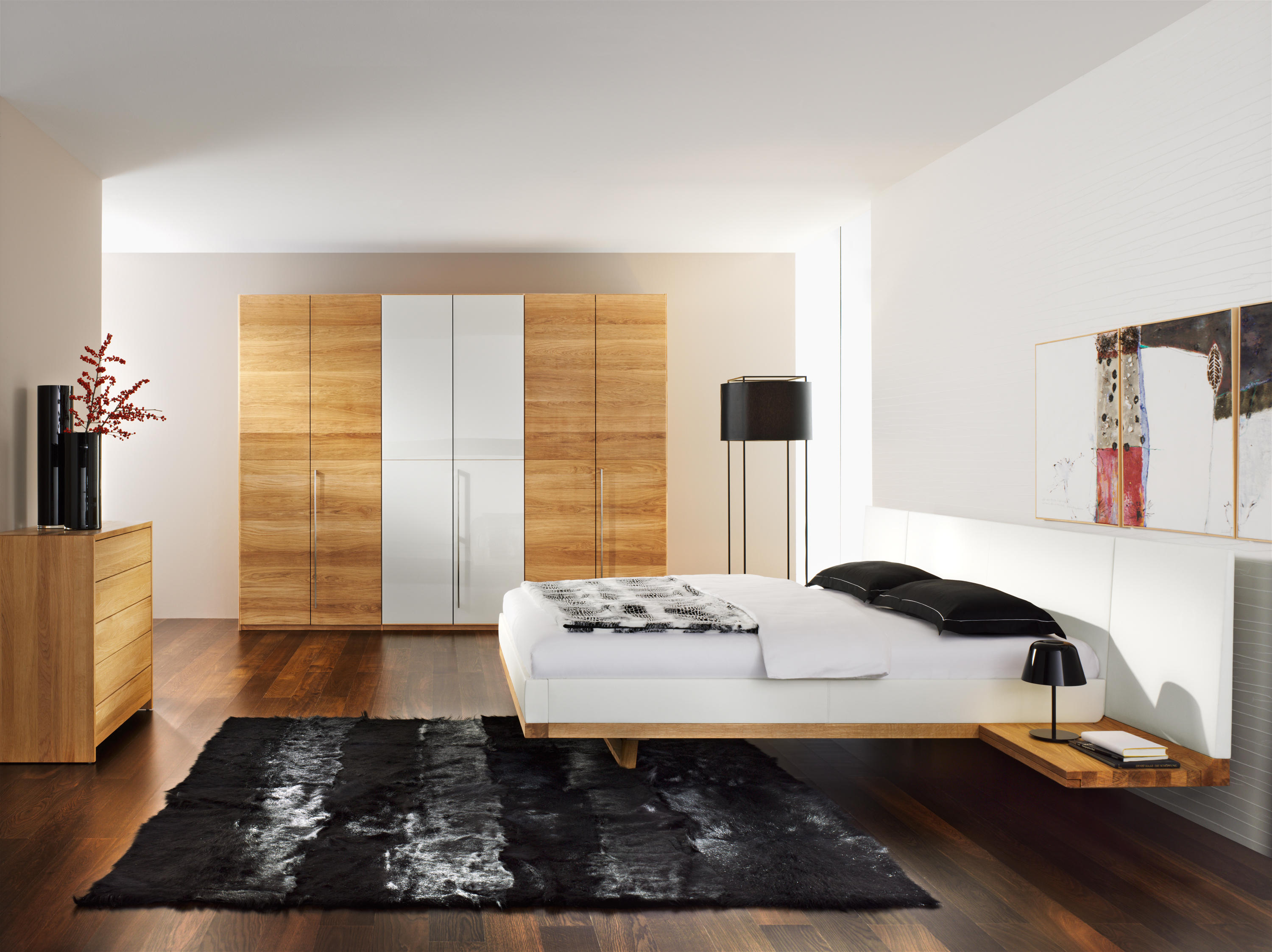riletto bed - double beds from team 7 | architonic - Team 7 Schlafzimmer